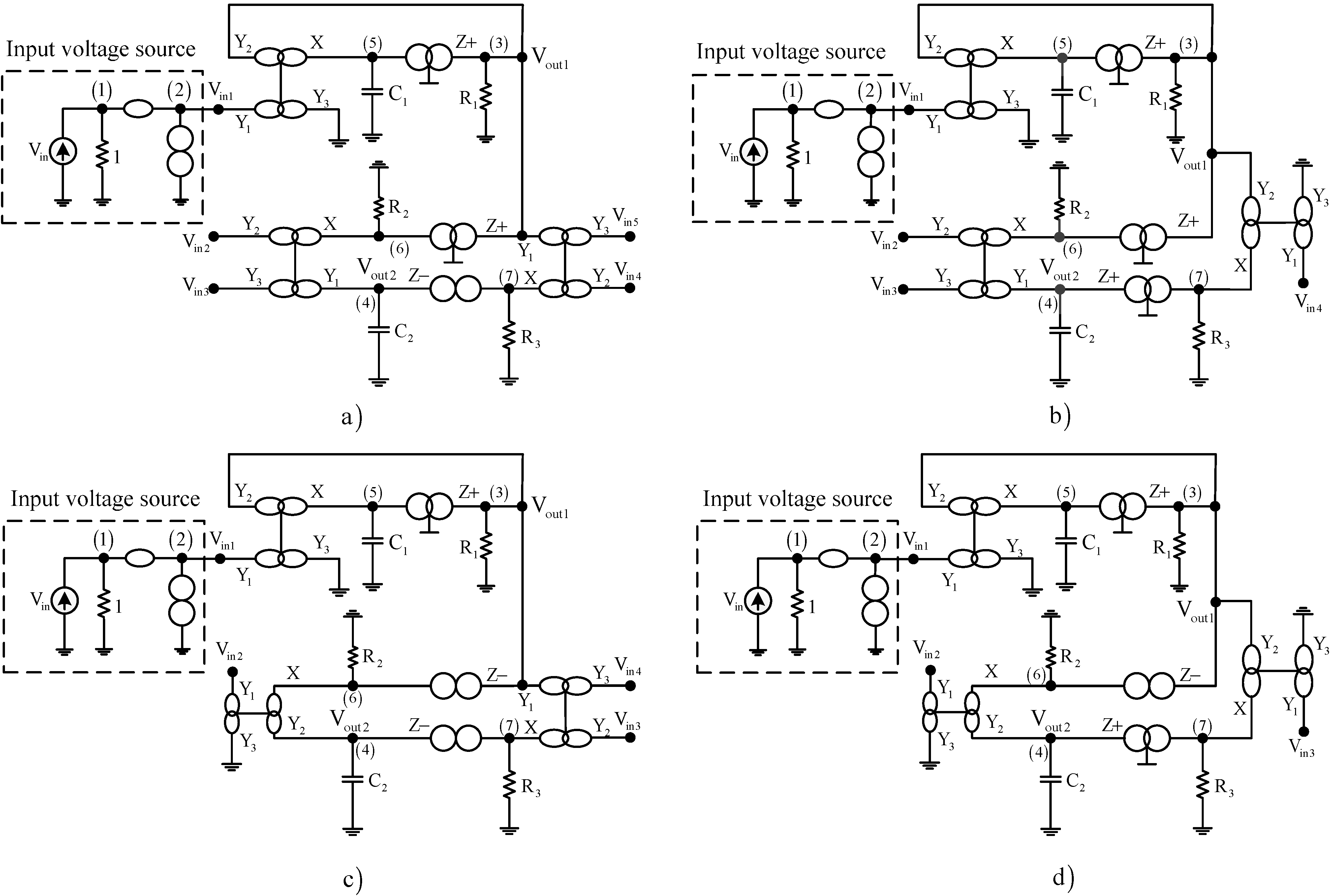 Applied Sciences Free Full Text Synthesis Of Cascadable Ddcc Circuit Diagram Voltage Source No