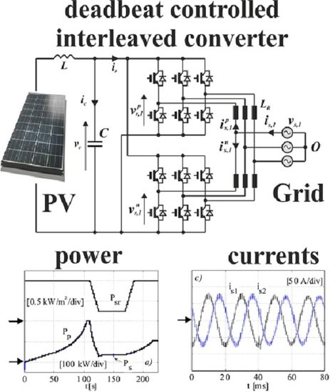 Control and Modulation Techniques for a Centralized PV Generation System Grid Connected via an Interleaved Inverter