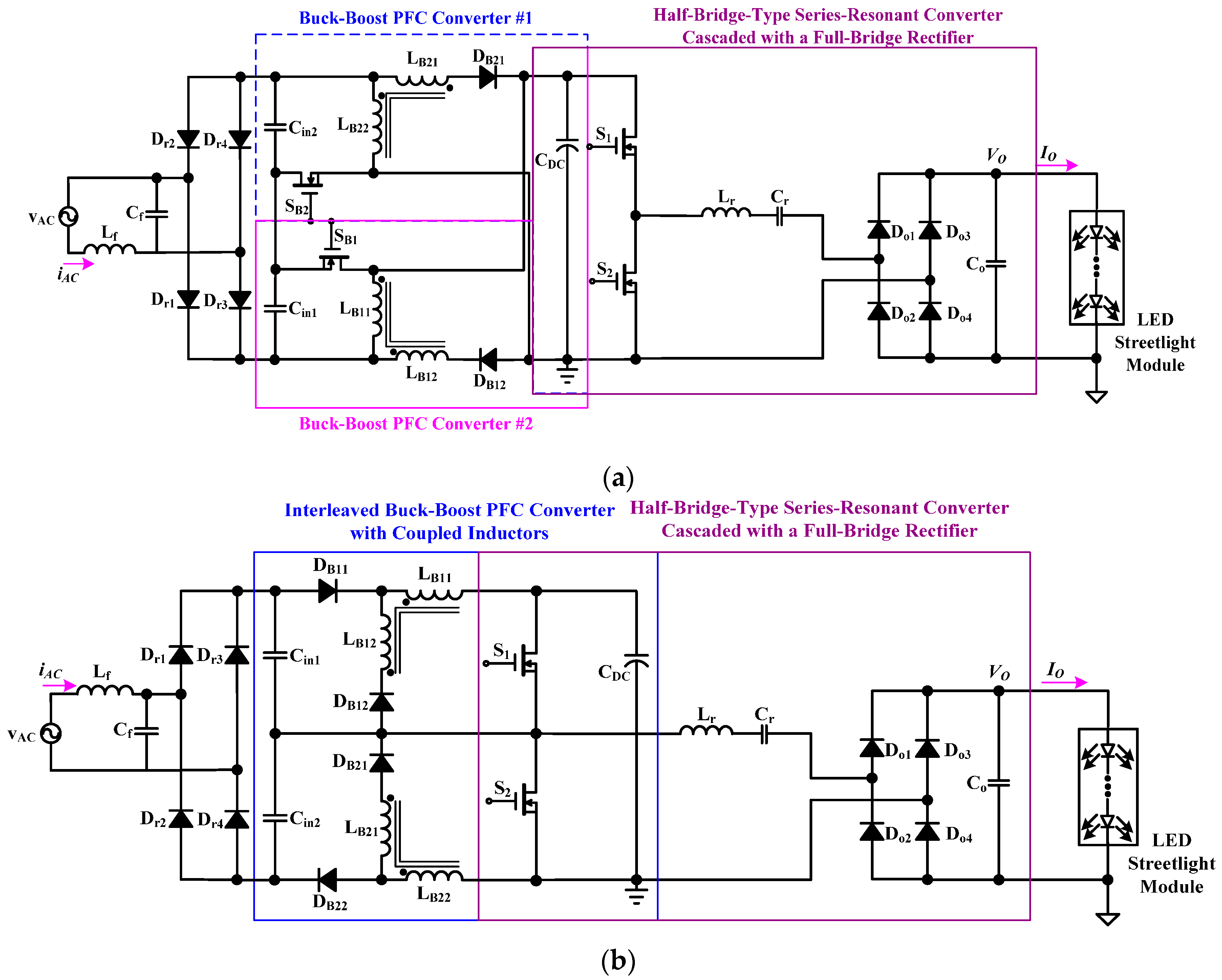 Applied Sciences Free Full Text A Single Stage High Power Factor Driver Circuit For Led No