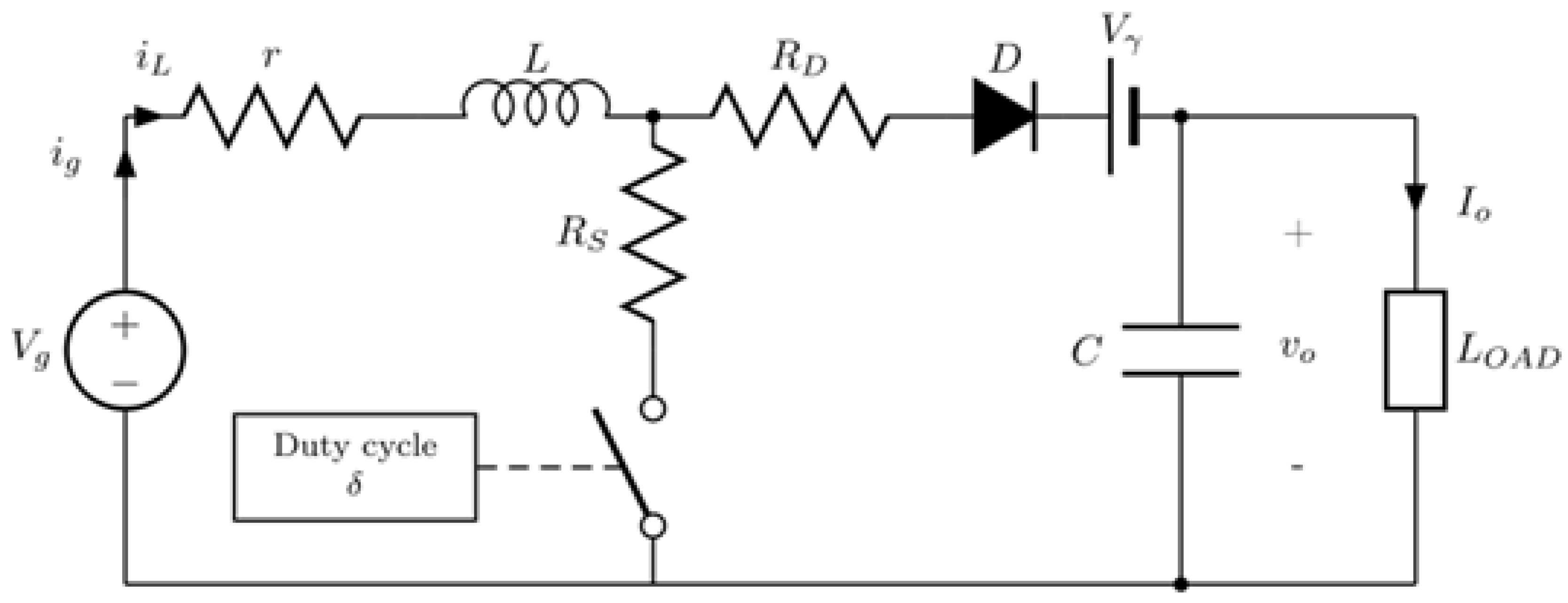 Applied Sciences Free Full Text Theoretical Assessment Of Dc To Boost Converter Circuit No