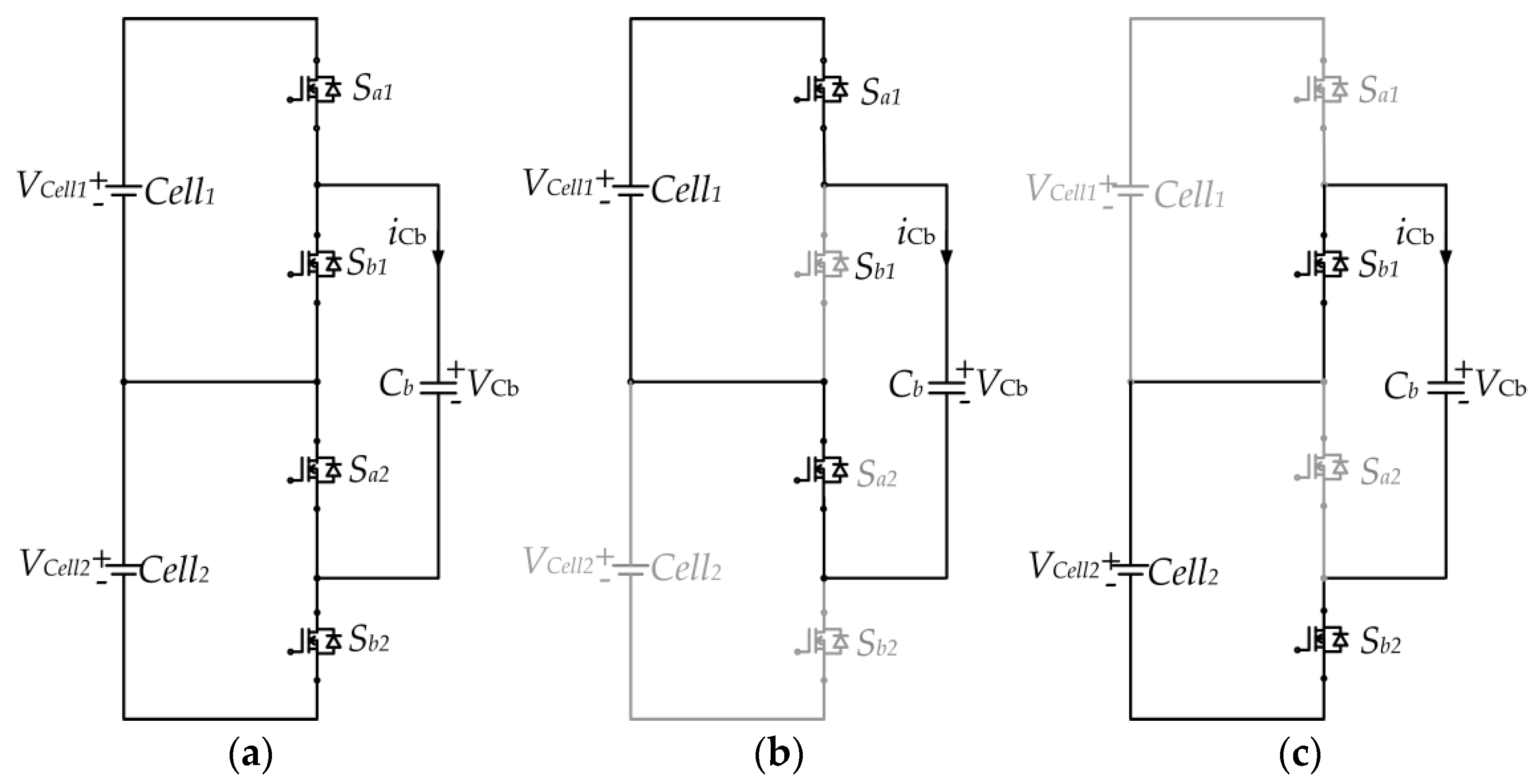 Applied Sciences Free Full Text A Modular Cell Balancer Based On Electrical Circuit Capacitor 2 No