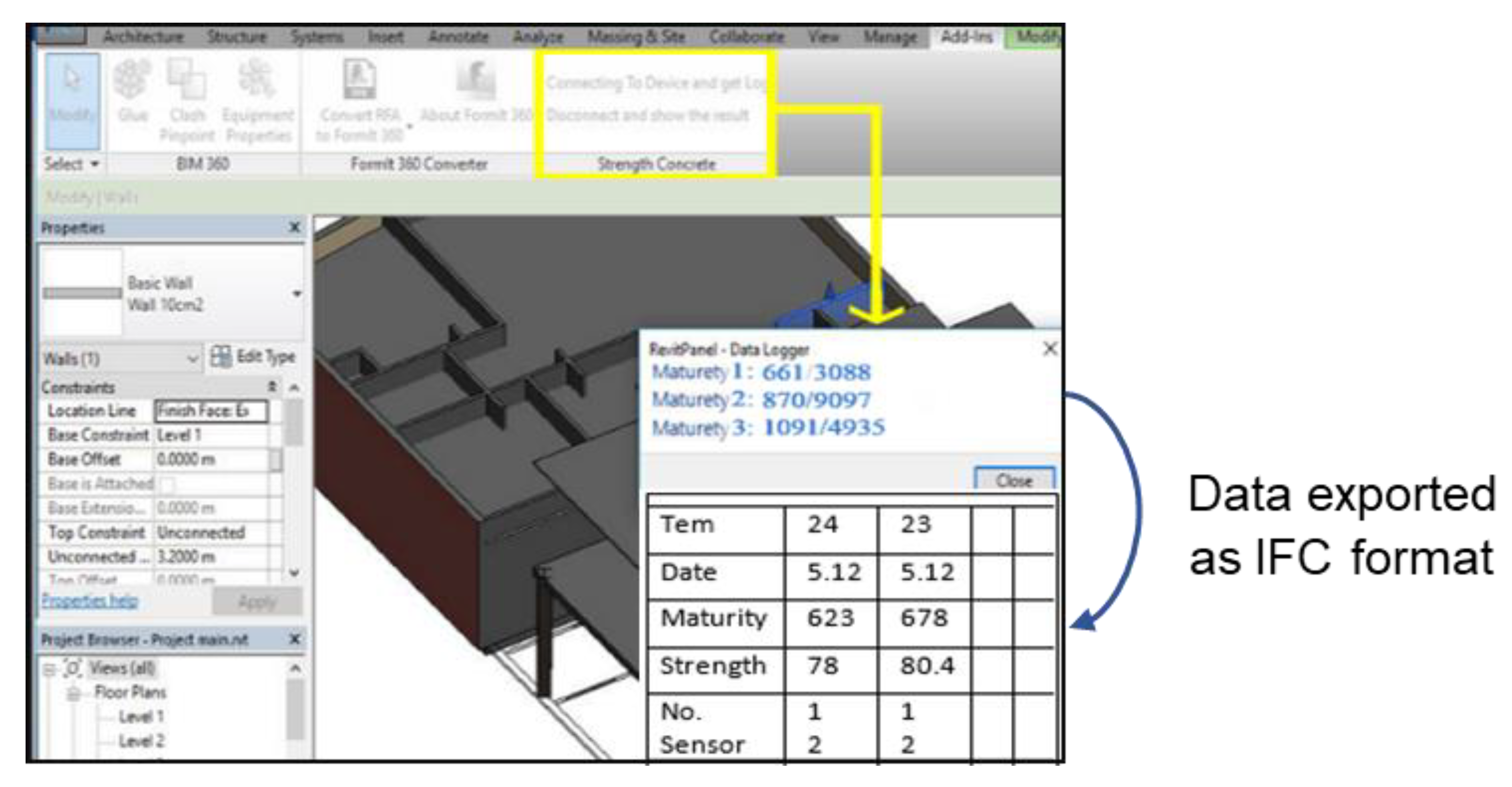 Applied Sciences Free Full Text Extending Bim Interoperability For Real Time Concrete Formwork Process Monitoring Html