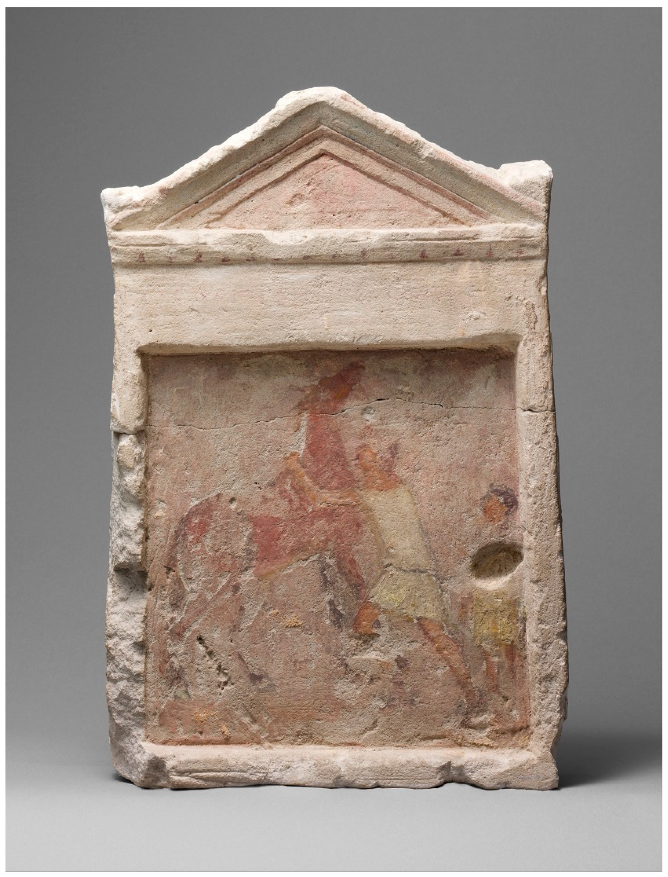 Arts Free Full Text Ptolemaic Cavalrymen On Painted Alexandrian Funerary Monuments Html