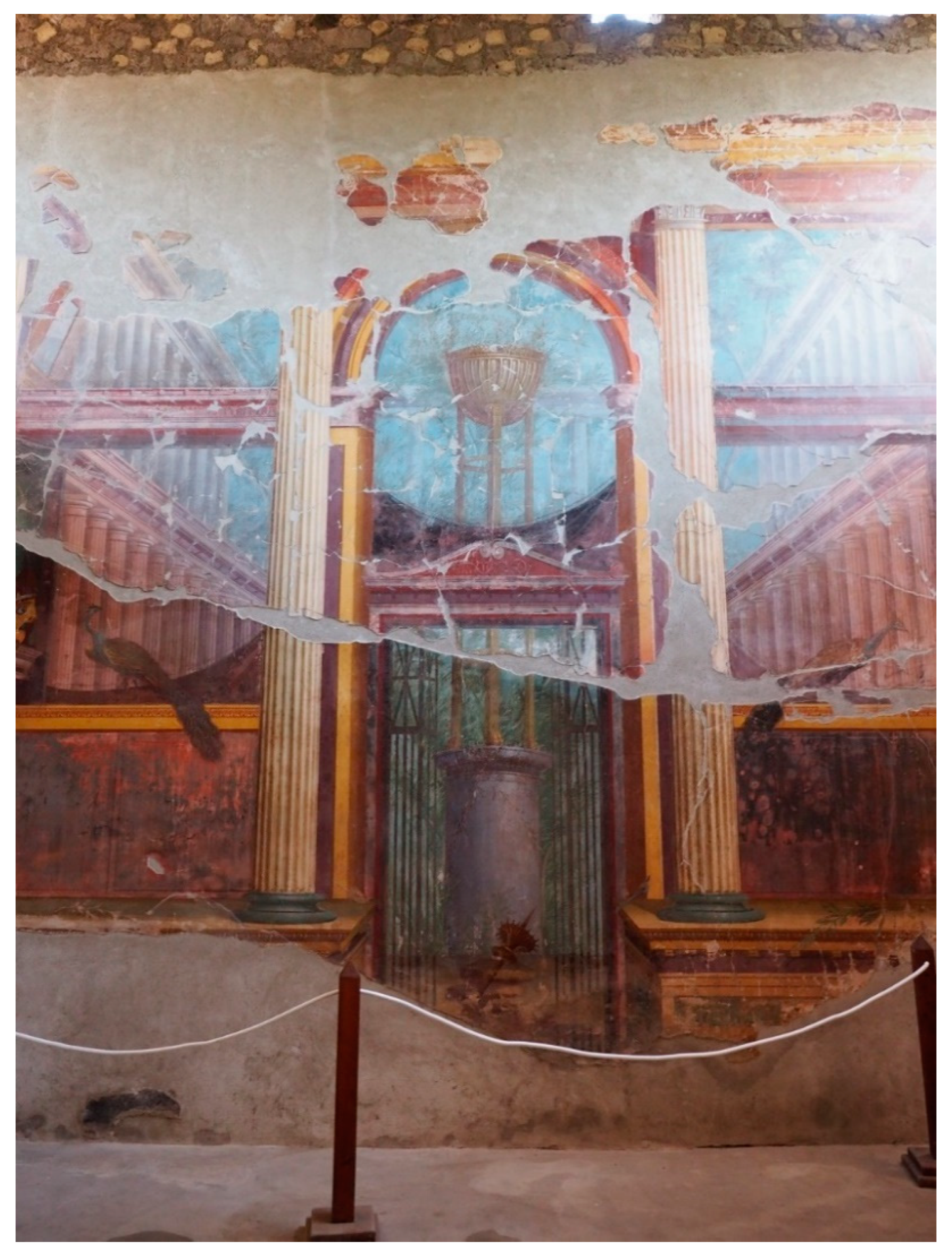 framed metal wall art.htm arts free full text spatial dimensions in roman wall painting  roman wall painting