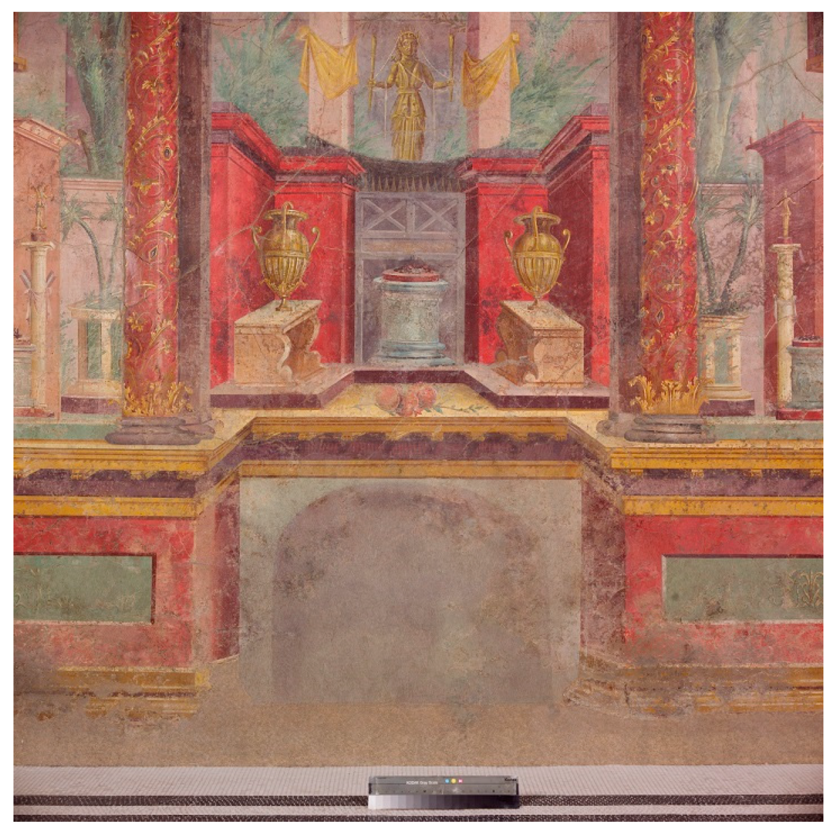 Arts Free Full Text Spatial Dimensions In Roman Wall Painting