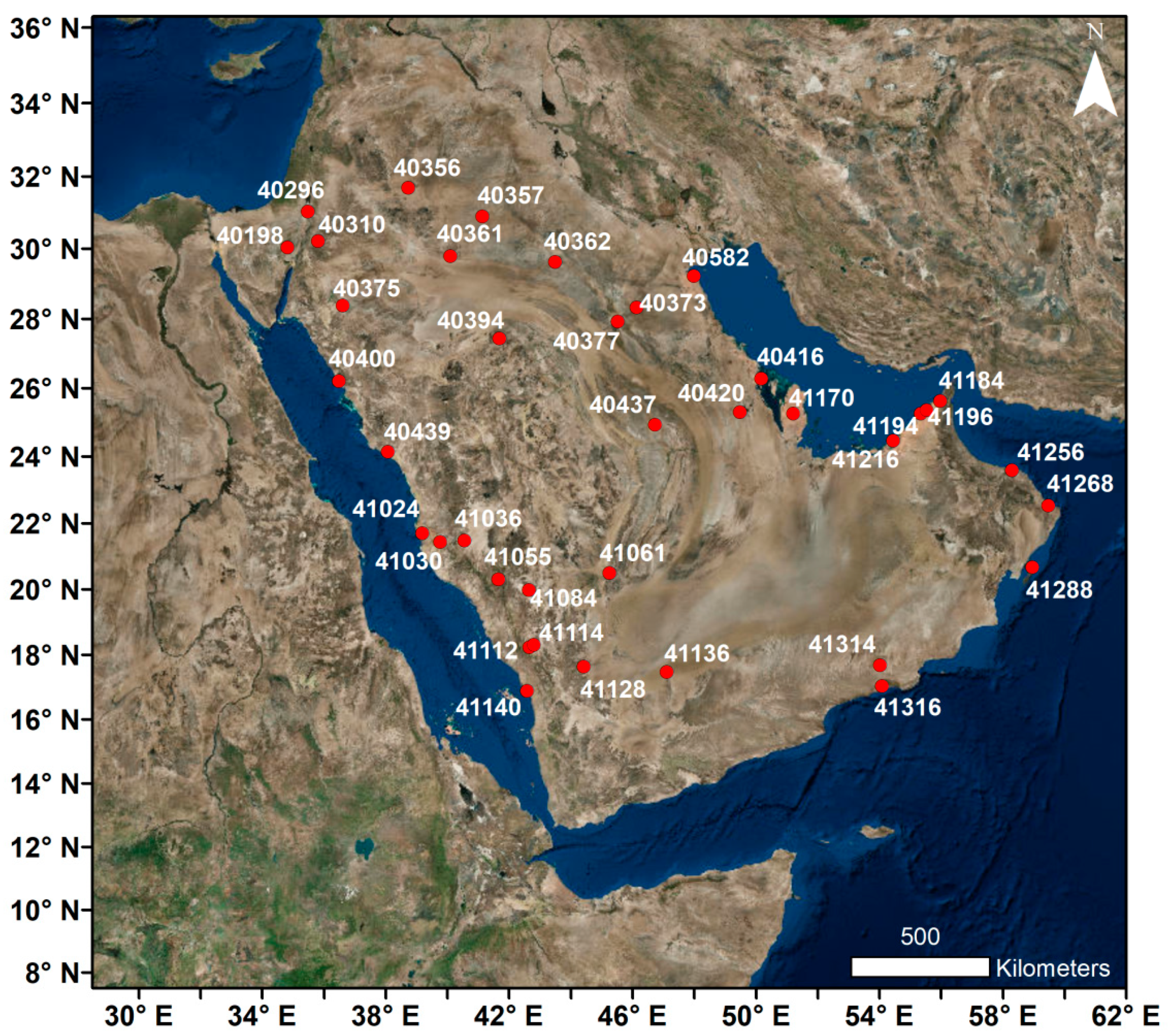 Atmosphere Free Full Text Regional Climatic Features Of The Arabian Peninsula Html