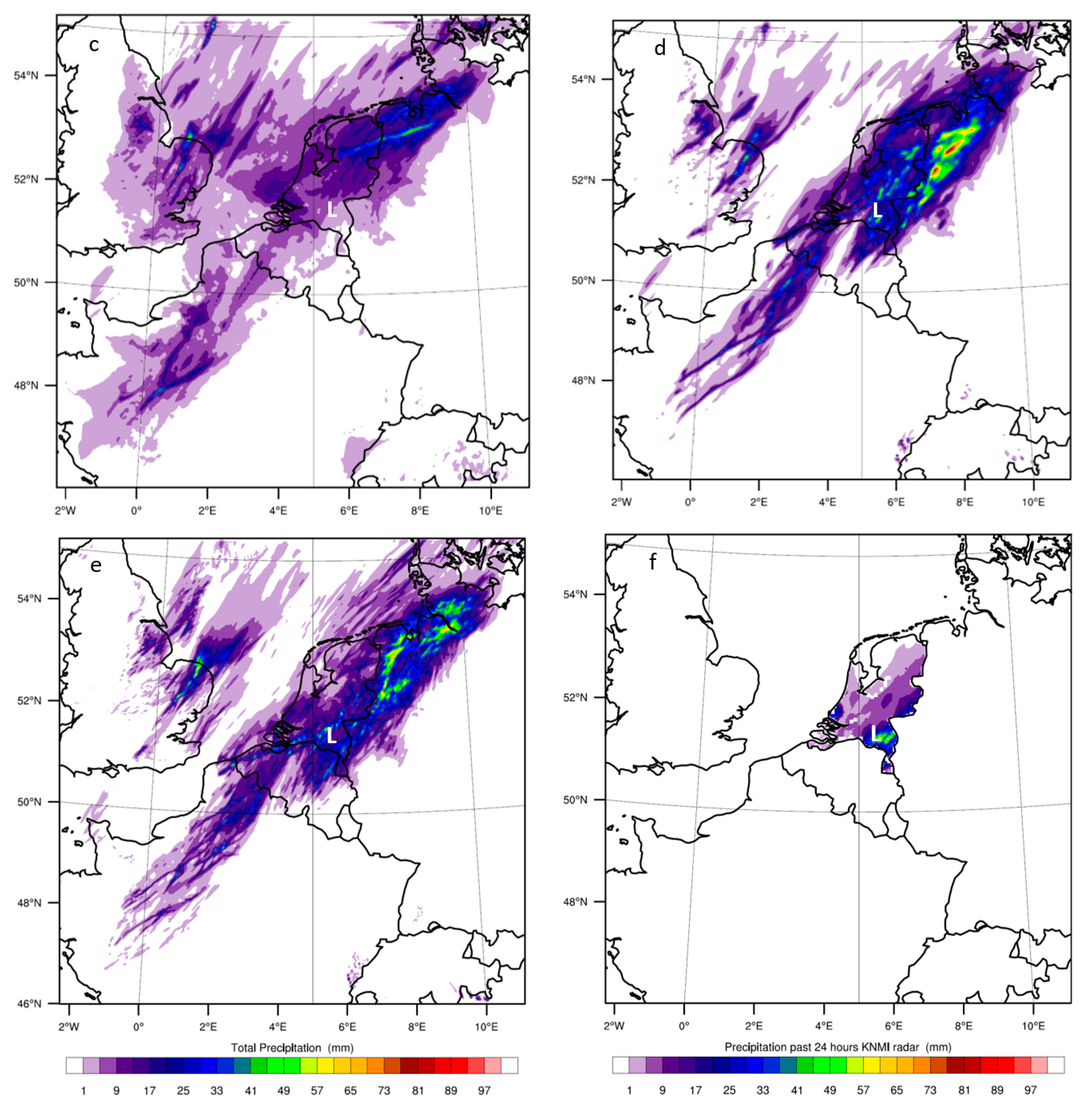 Atmosphere Free Full Text Mesoscale Model Simulation Of A Severe Summer Thunderstorm In The Netherlands Performance And Uncertainty Assessment For Parameterised And Resolved Convection Html