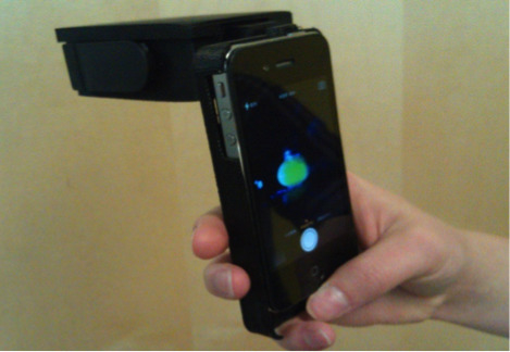 Handheld Device Adapted to Smartphone Cameras for the Measurement of Sodium Ion Concentrations at Saliva-Relevant Levels via Fluorescence