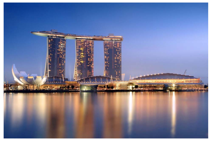 Buildings free full text tall buildings and urban for Marina bay sands architecture concept