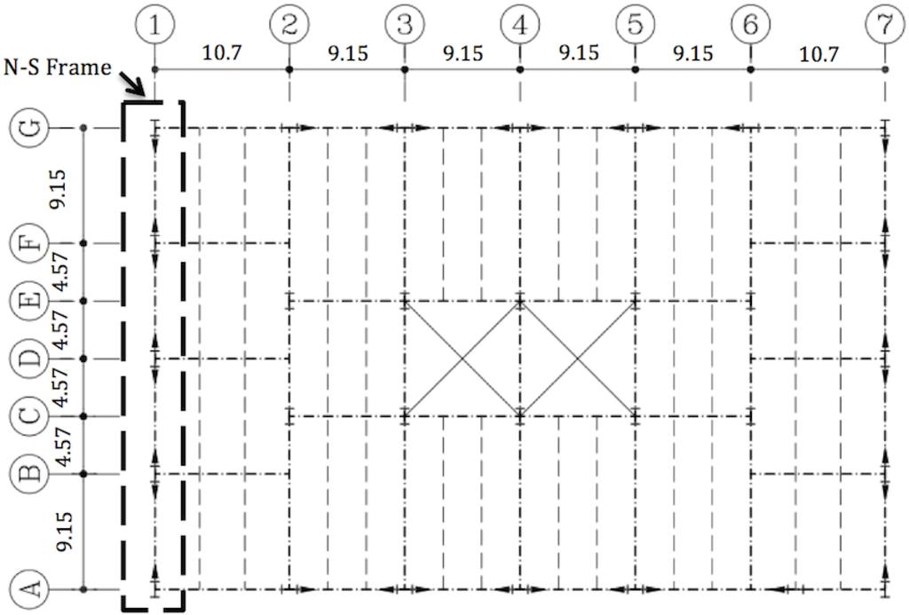 Buildings free full text seismic collapse assessment for Steel frame building plans