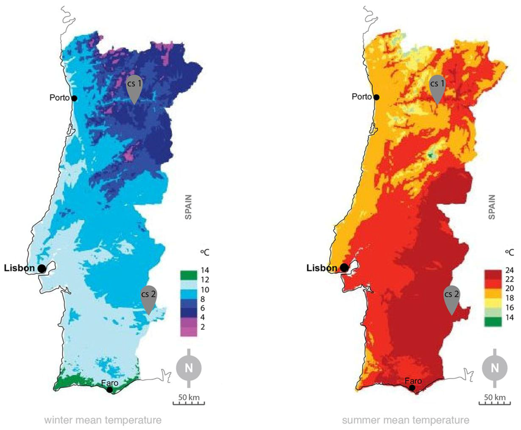 Portugal Summer Temperatures Pictures To Pin On Pinterest ThePinsta - Portugal rainfall map