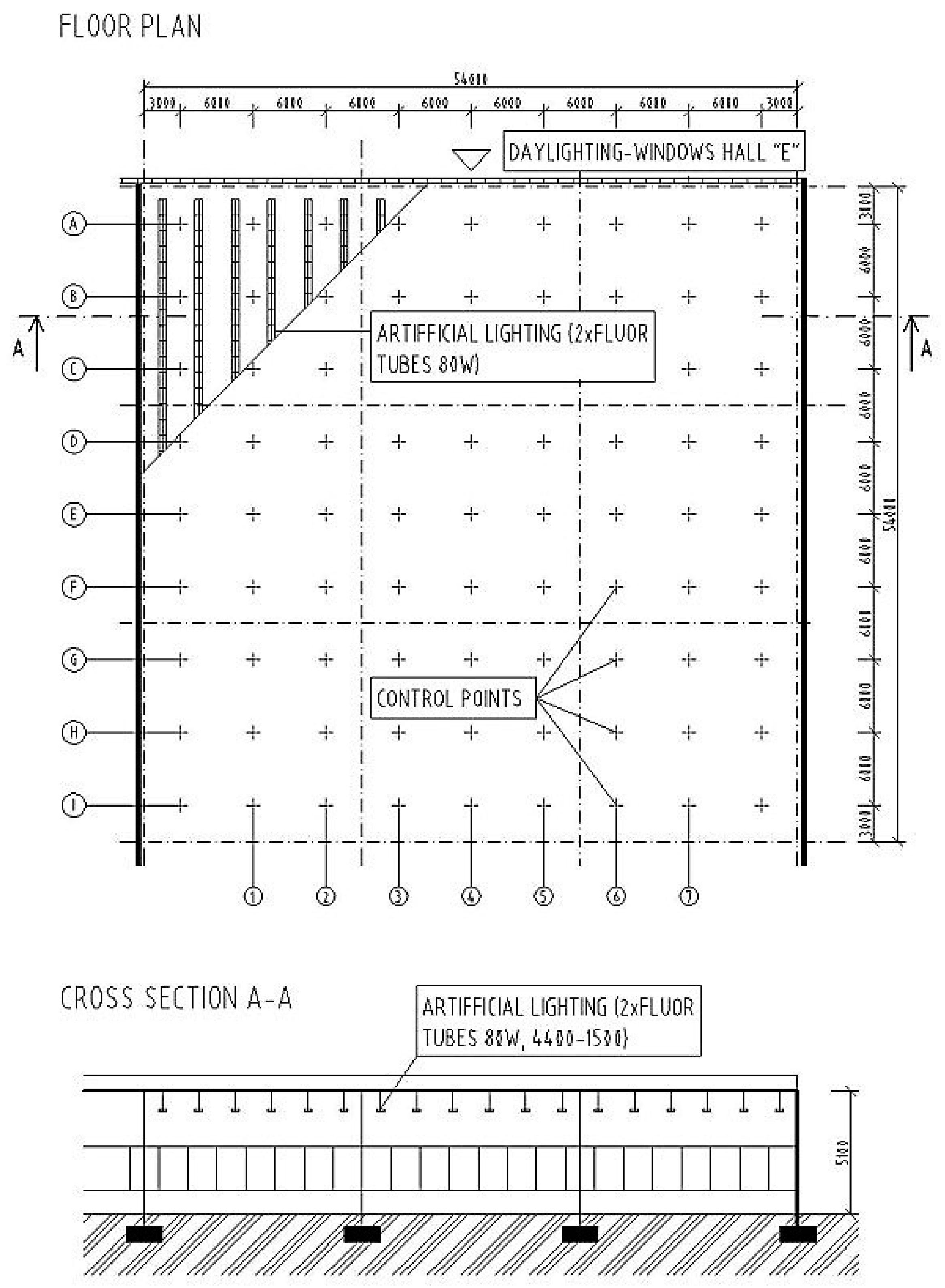 Industrial Lighting Diagram