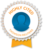 Highly Cited - Clarivate Analytics (formerly Thomson Reuters)