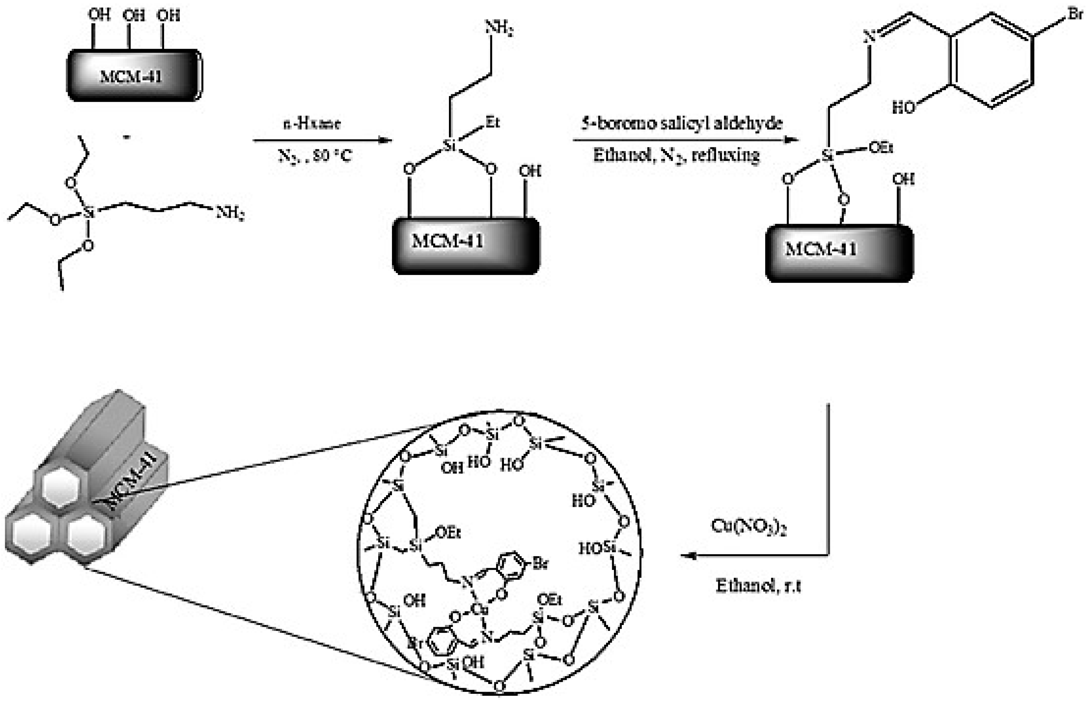 Catalysts Free Full Text Functionalized Ordered Mesoporous Silicas Mcm 41 Synthesis And Applications In Catalysis Html