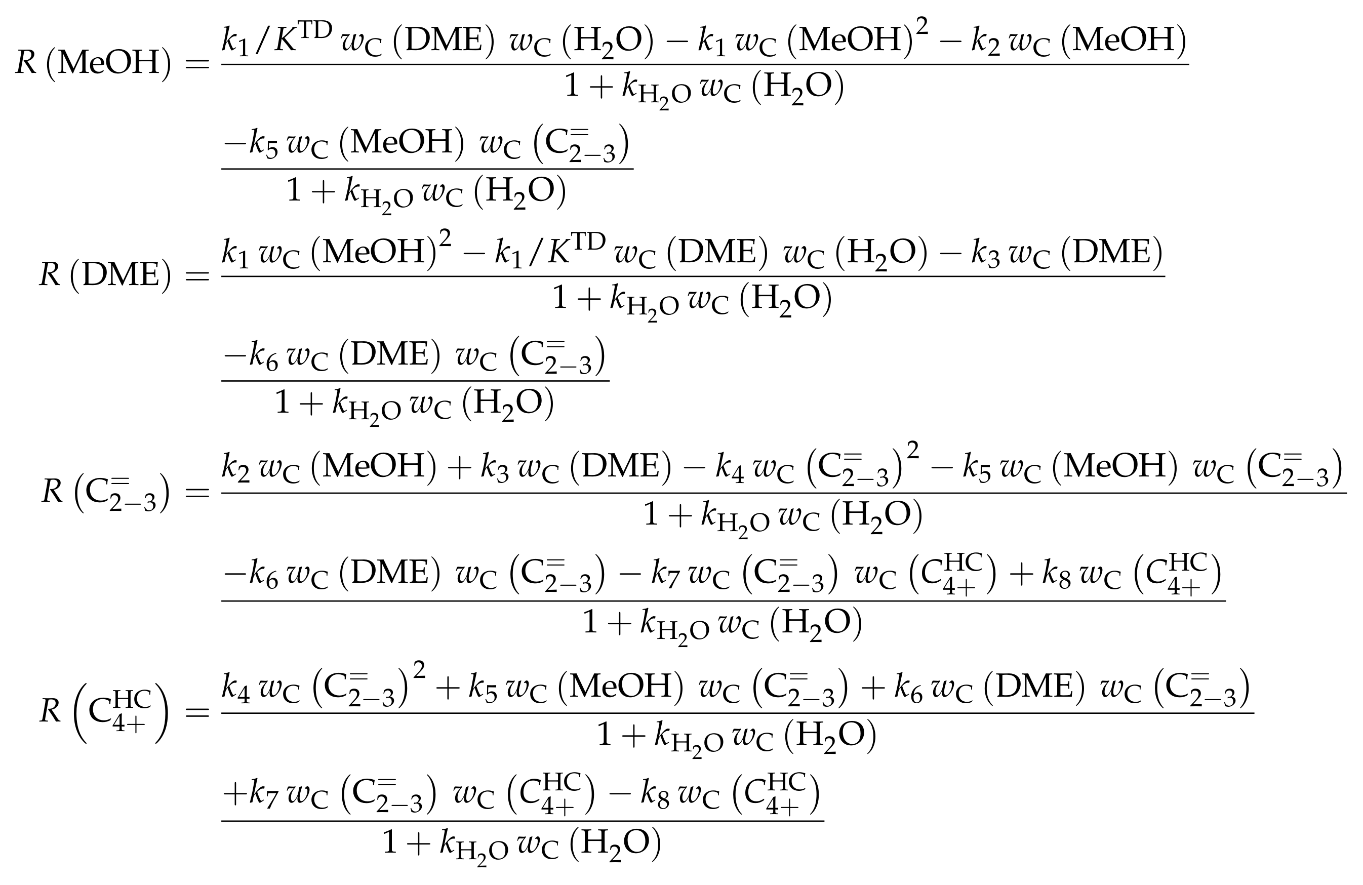 Catalysts   Free Full-Text   Kinetic Modeling of Catalytic