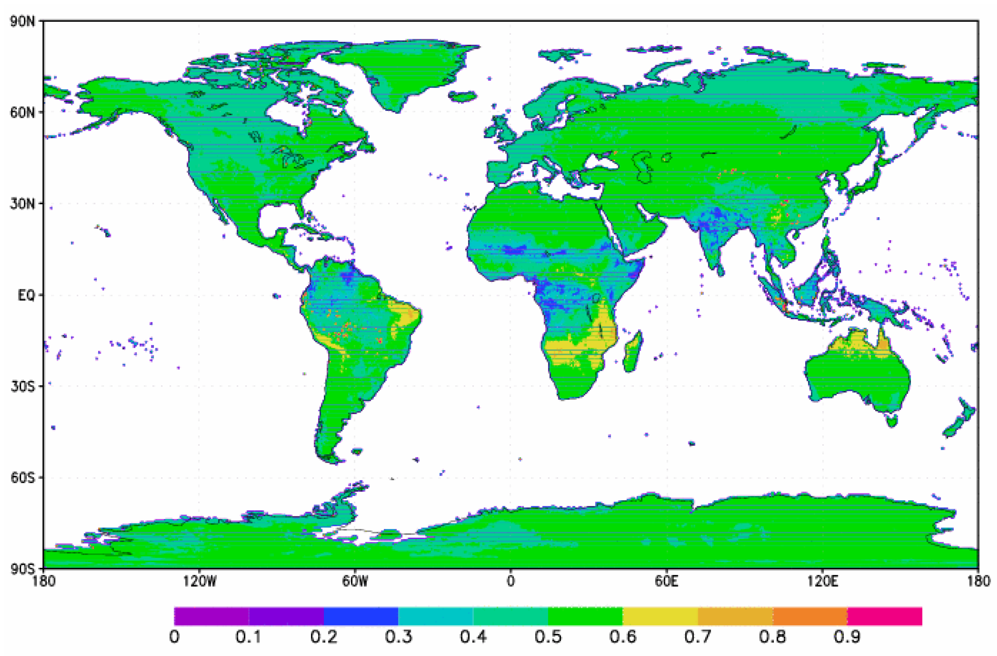 Climate | Free Full-Text | ENSO Effects on Land Skin Temperature