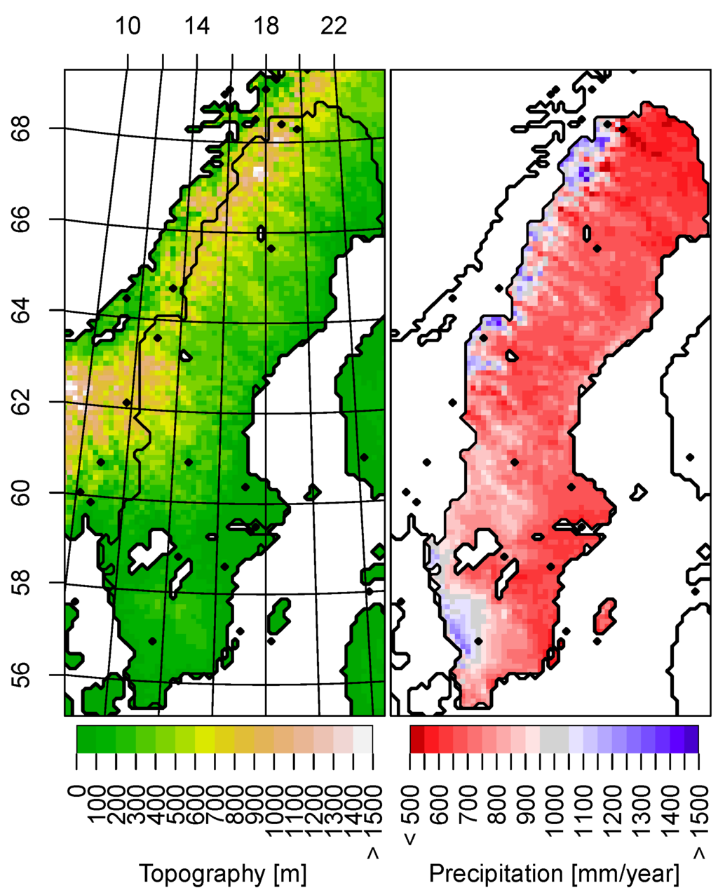 Climate Zones In Sweden Pictures To Pin On Pinterest PinsDaddy - Sweden climate zone map
