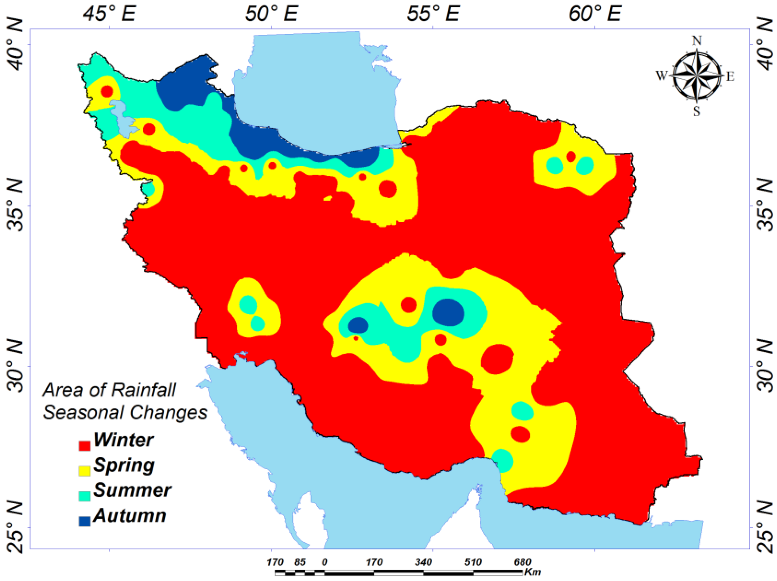 iran climate and weather