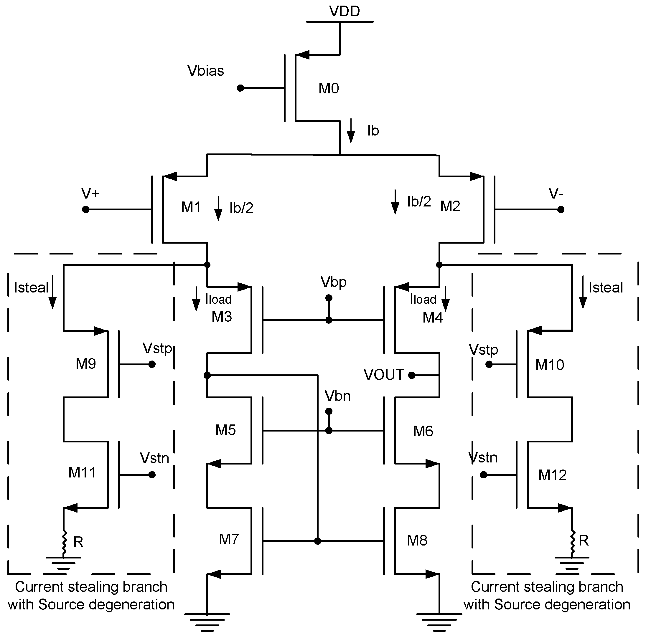 Computers Free Full Text Low Noise Power Cmos Telescopic Ota Figure 5 Bipolar Transistor Amplifier Schematic 05 00025 G005 Proposed Operational Transconductance