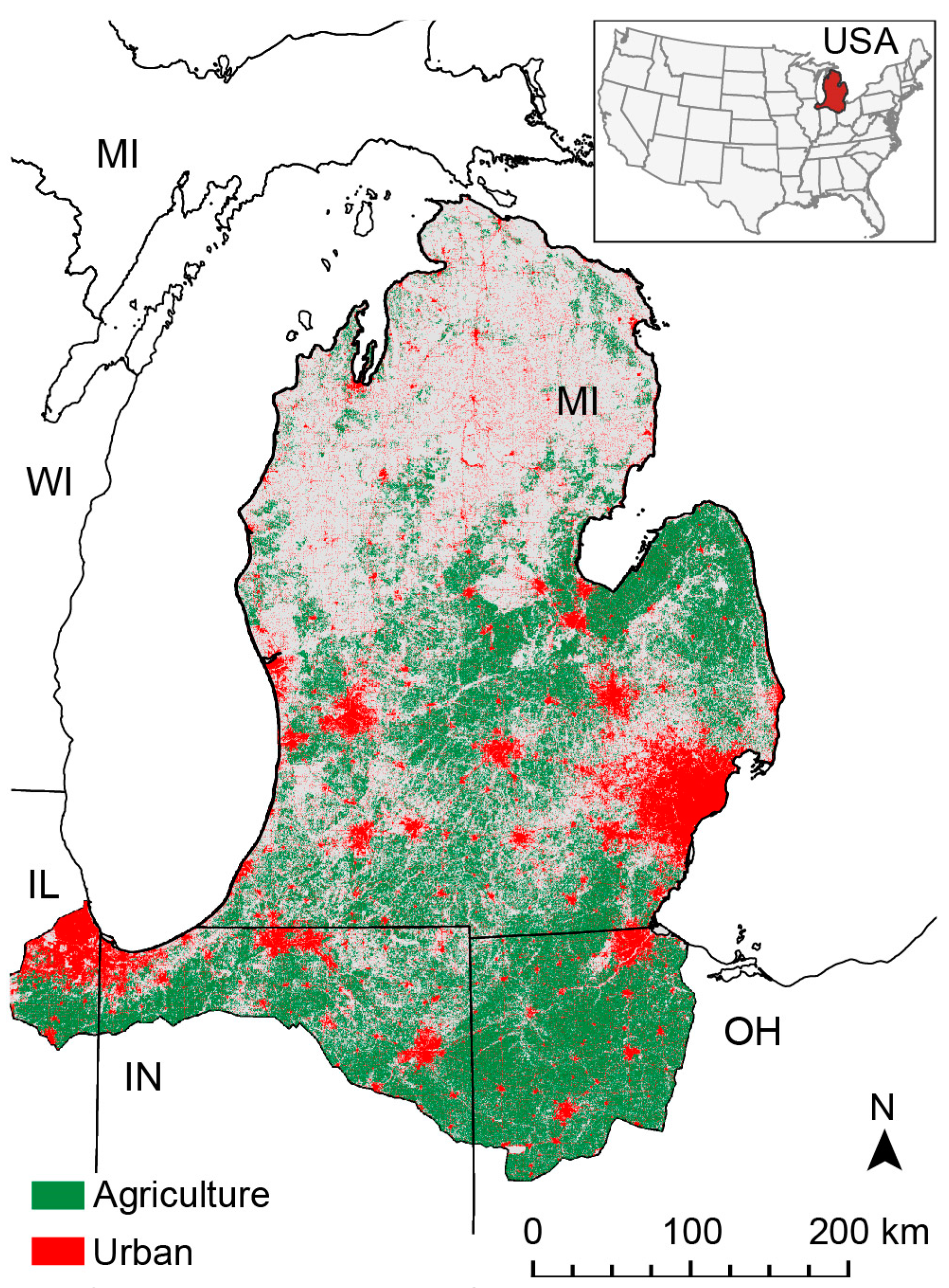 Data Free Full Text Long Term Land Cover Data For The