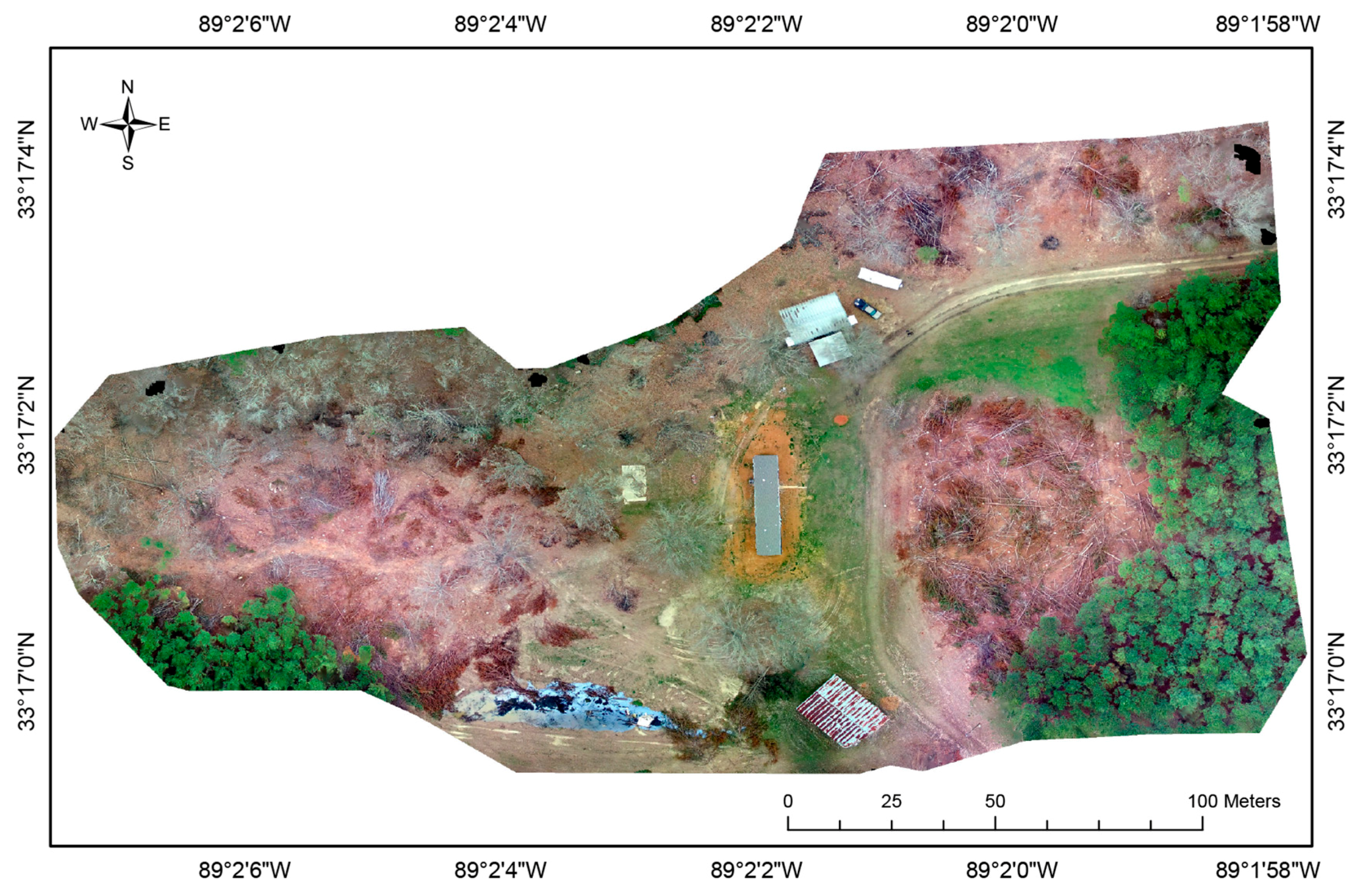 Drones | Free Full-Text | Post-Logging Estimation of