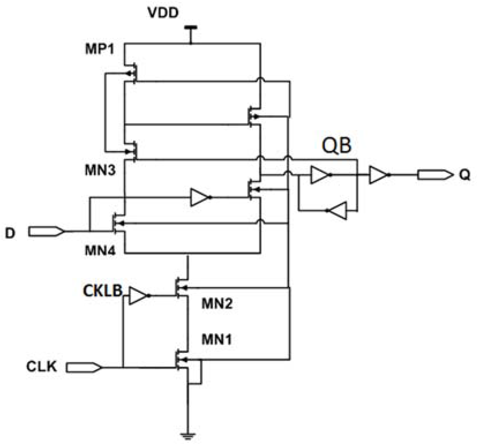 Electronics Free Full Text Low Power High Efficiency Shift D Ff Circuit Diagram No