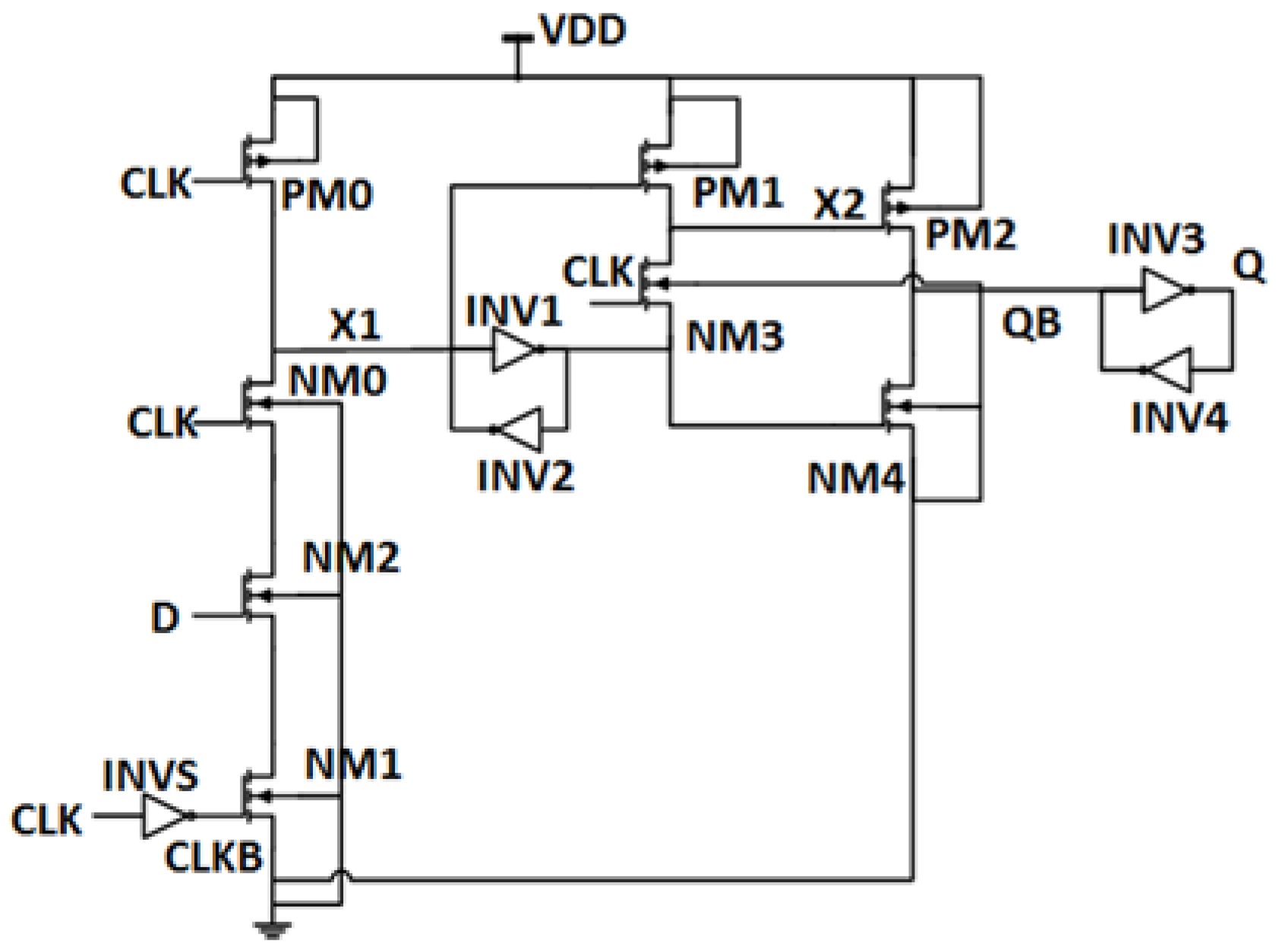 Electronics Free Full Text Low Power High Efficiency Shift Register Circuit Diagram No