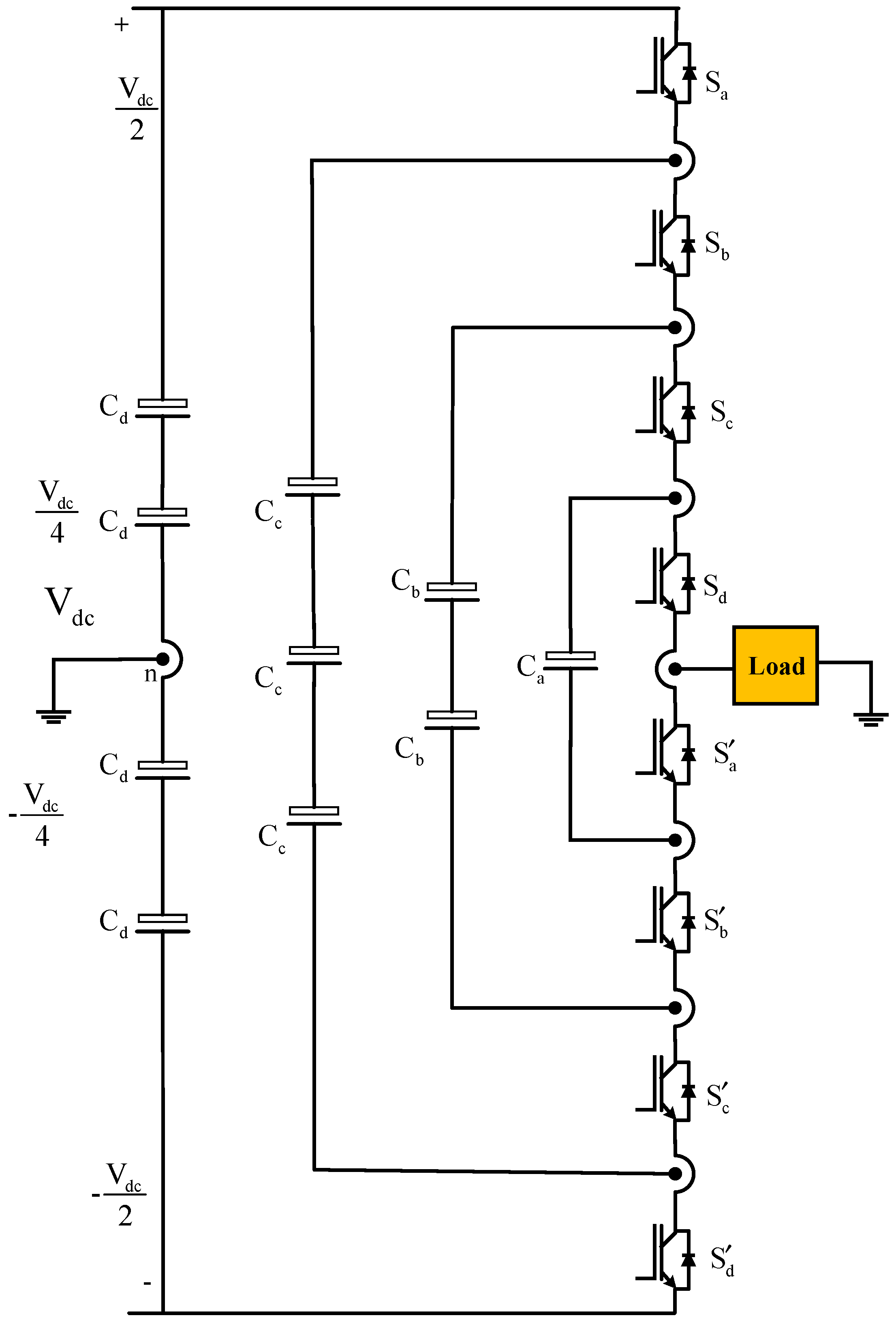 Electronics Free Full Text Digital Control Techniques Based On 138 Volt 20 A Transformerless Power Supply Circuit Diagram 07 00018 G004