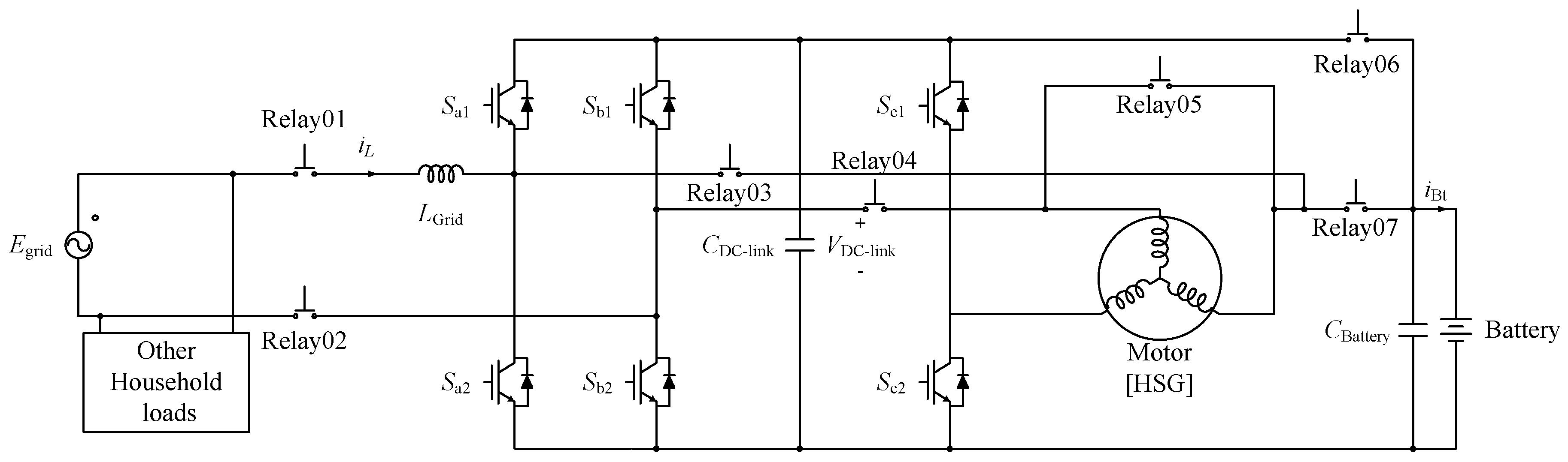 Electronics Free Full Text Single Phase Bidirectional On Board Graphic Equalizer Circuit Diagram Moreover Brushless Motor 07 00287 G001