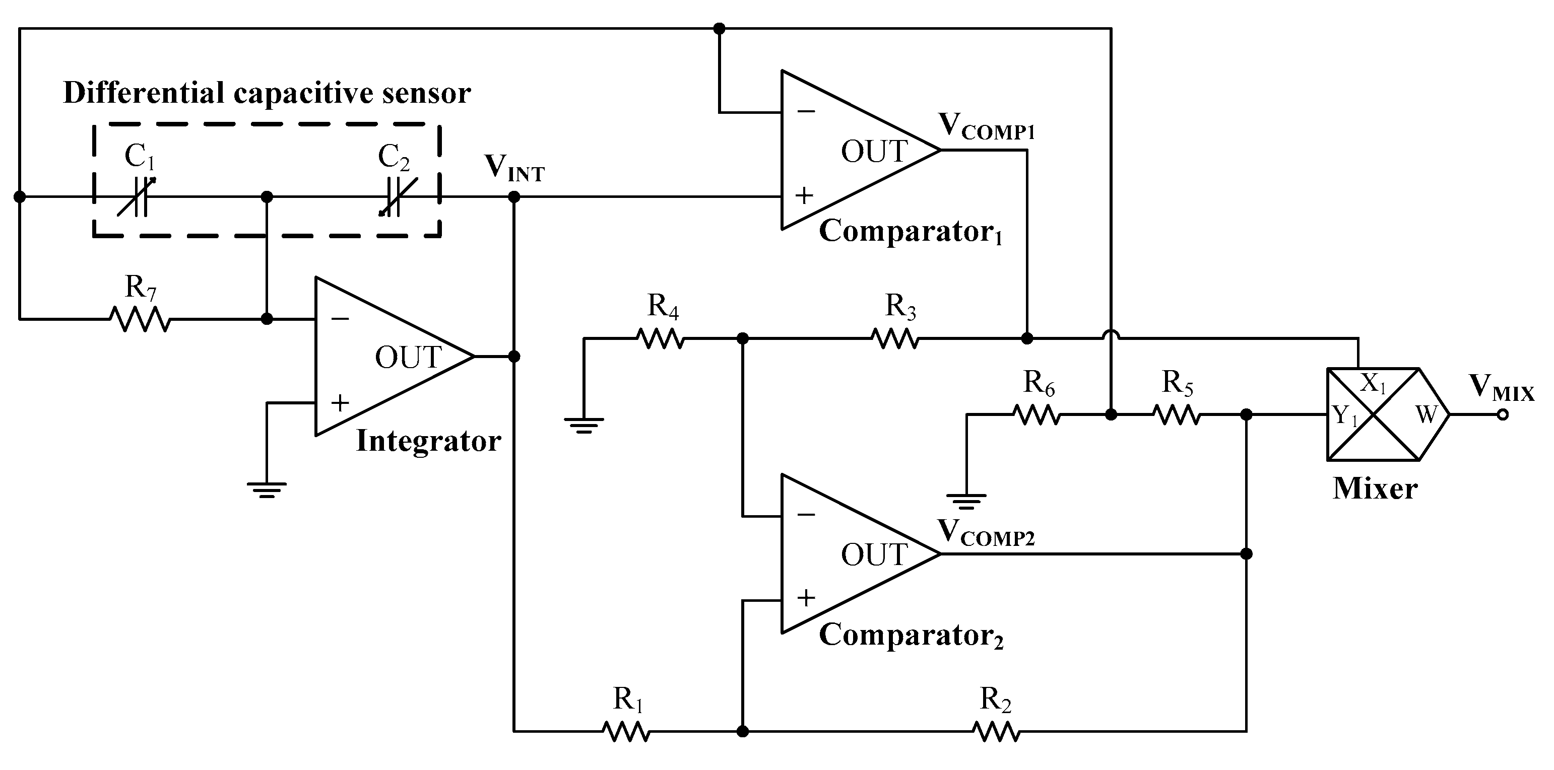 Electronics Free Full Text A Capacitance To Time Converter Based Dc Circuits Challenge From Challenge39s Main Window The 08 00080 G002 Figure 2 Schematic Circuit