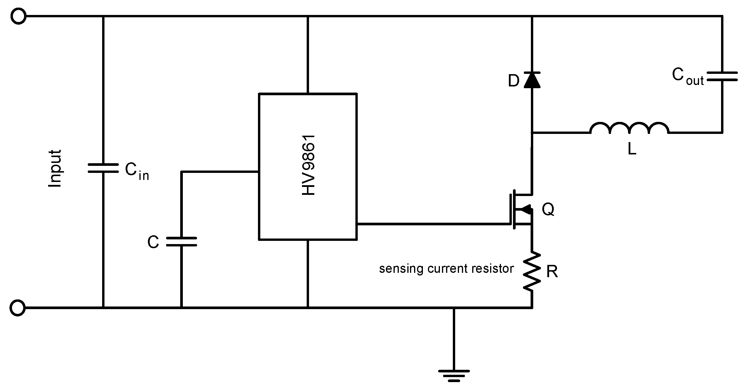 For The Base Winding High Efficiency Led Driver Circuit Schematic