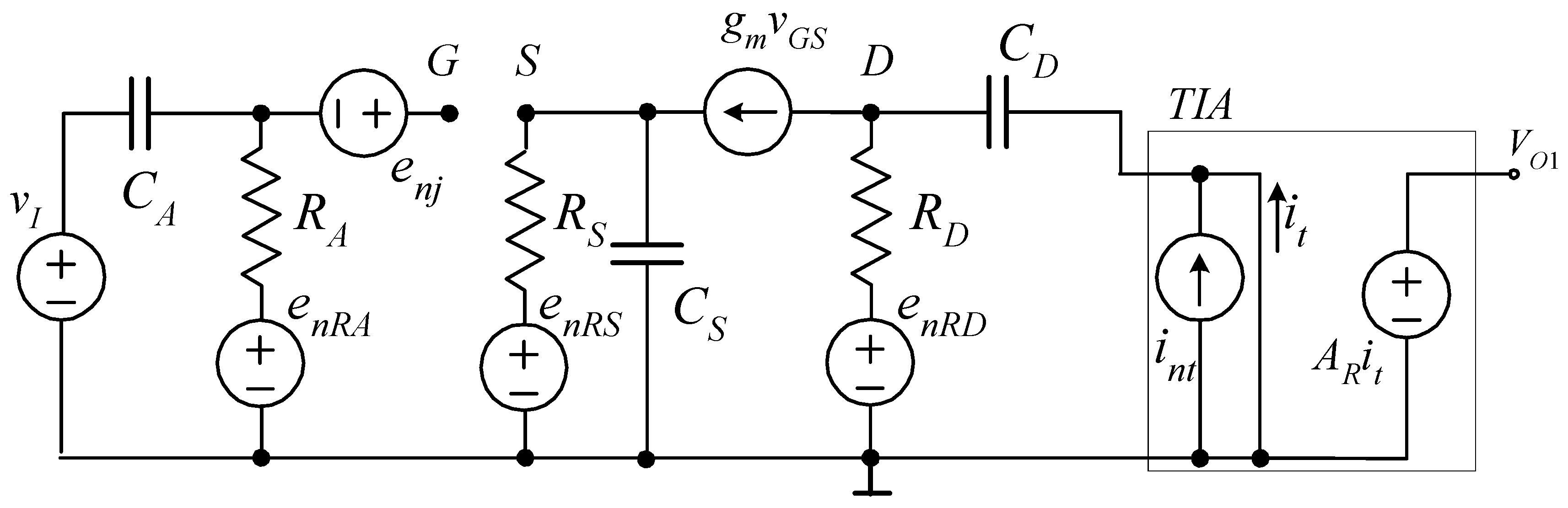 The Circuit Can Be Broken Down Into 5 Simpler Blocks Jfet Input Stage