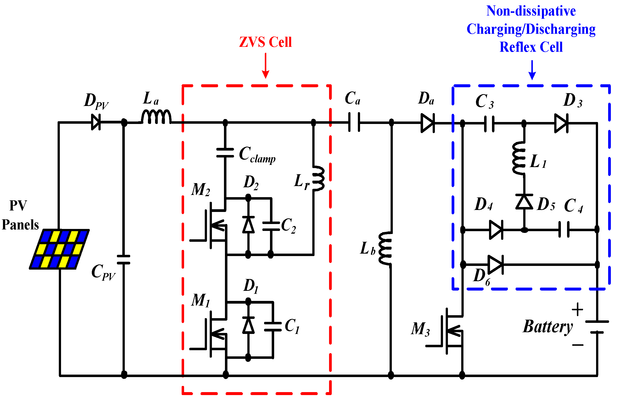 Energies Free Full Text A Reflex Charger With Zvs And Non Lead Acid Battery Circuit Diagram On Dc 12 Volt Photo Cell 08 01373 G003 1024