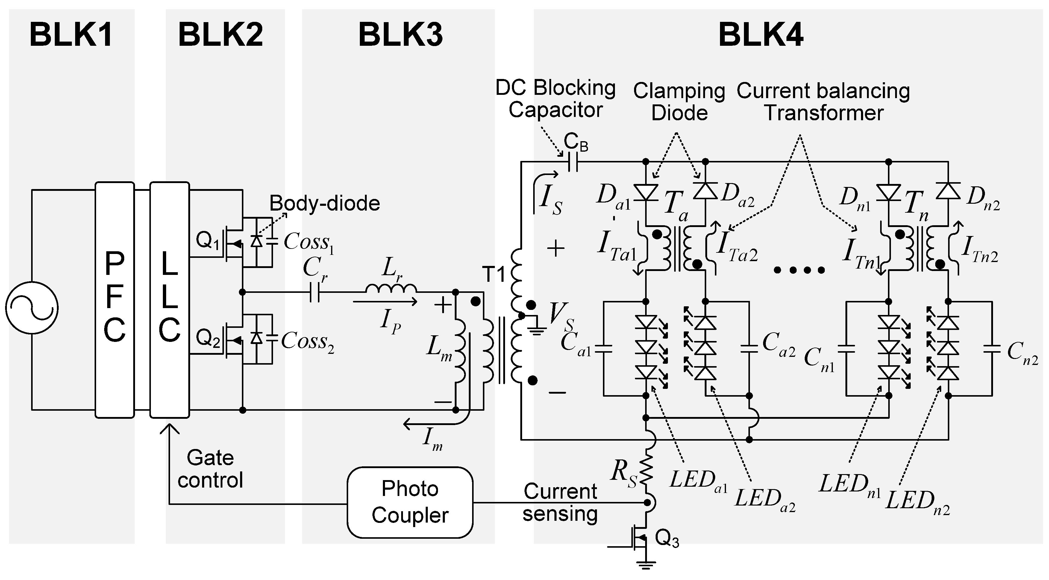 Energies Free Full Text Design Of An Llc Resonant Converter For Capacitor Wiring Diagram Led Lighting 08 02125 G004 1024