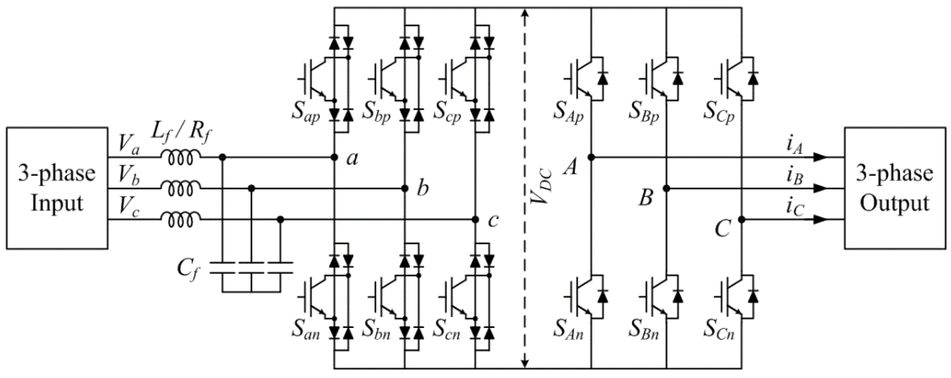 Energies | Free Full-Text | Indirect Matrix Converter for
