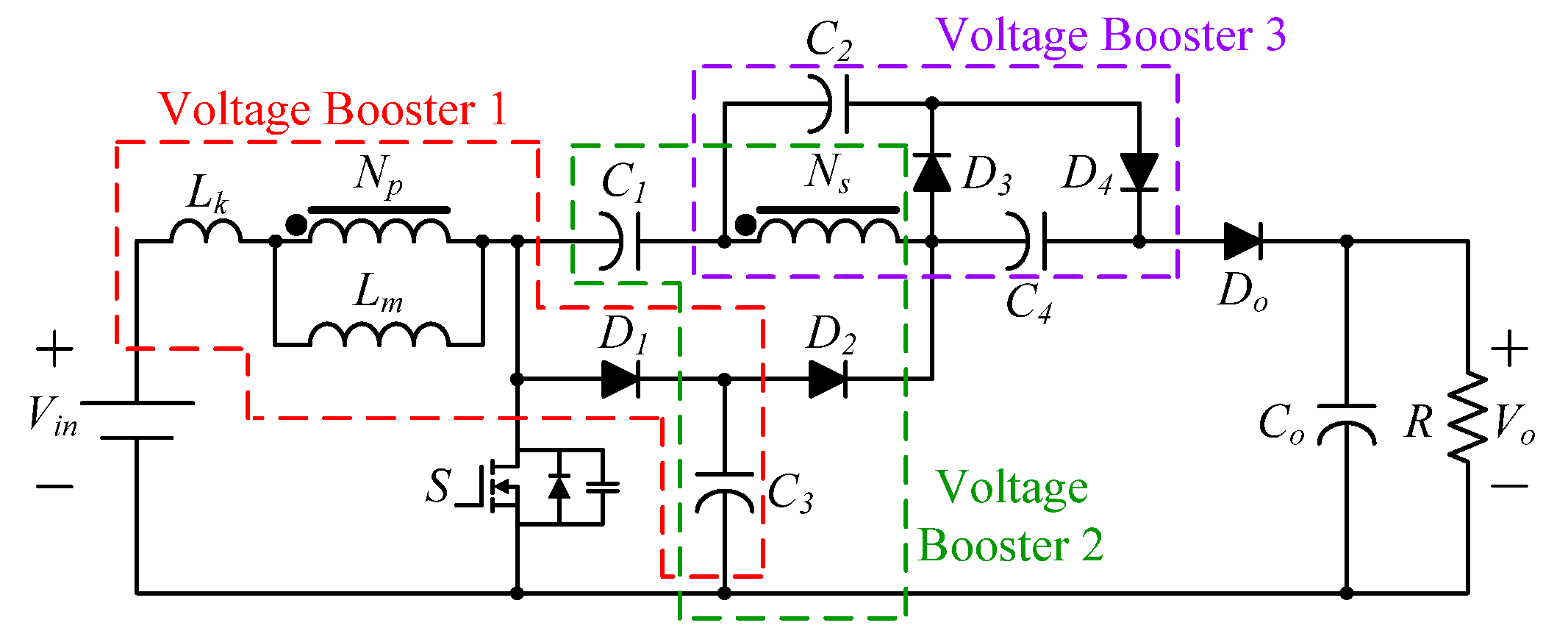 Energies | Free Full-Text | Integrated Three-Voltage-Booster DC-DC