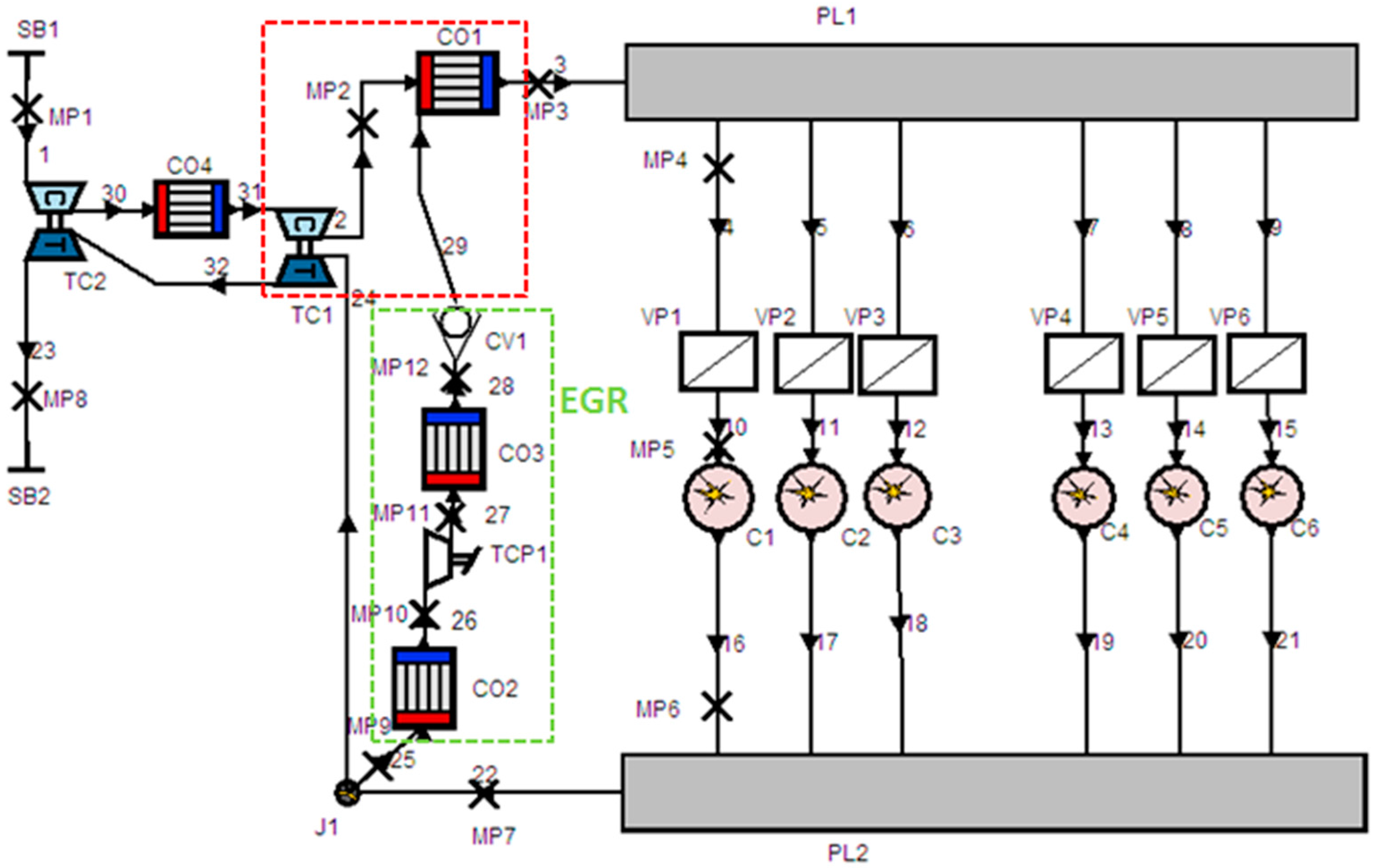 Energies Free Full Text Decreasing Nox Of A Low Speed Two Stroke Engine Diagram No