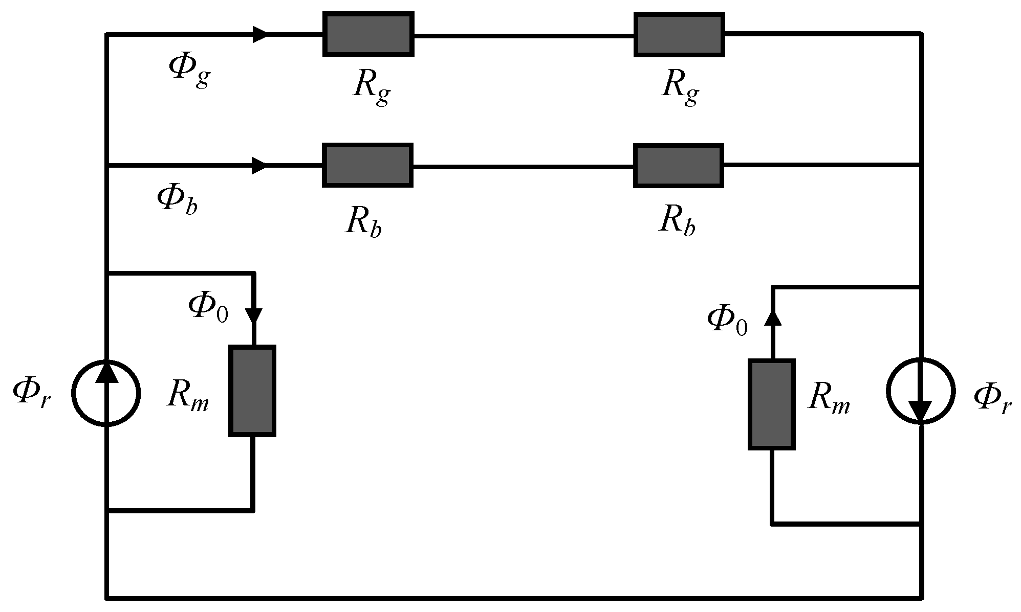 Energies Free Full Text Analytical Calculation Of D And Q Axis Parallel Circuit Diagram Calculate The Total No