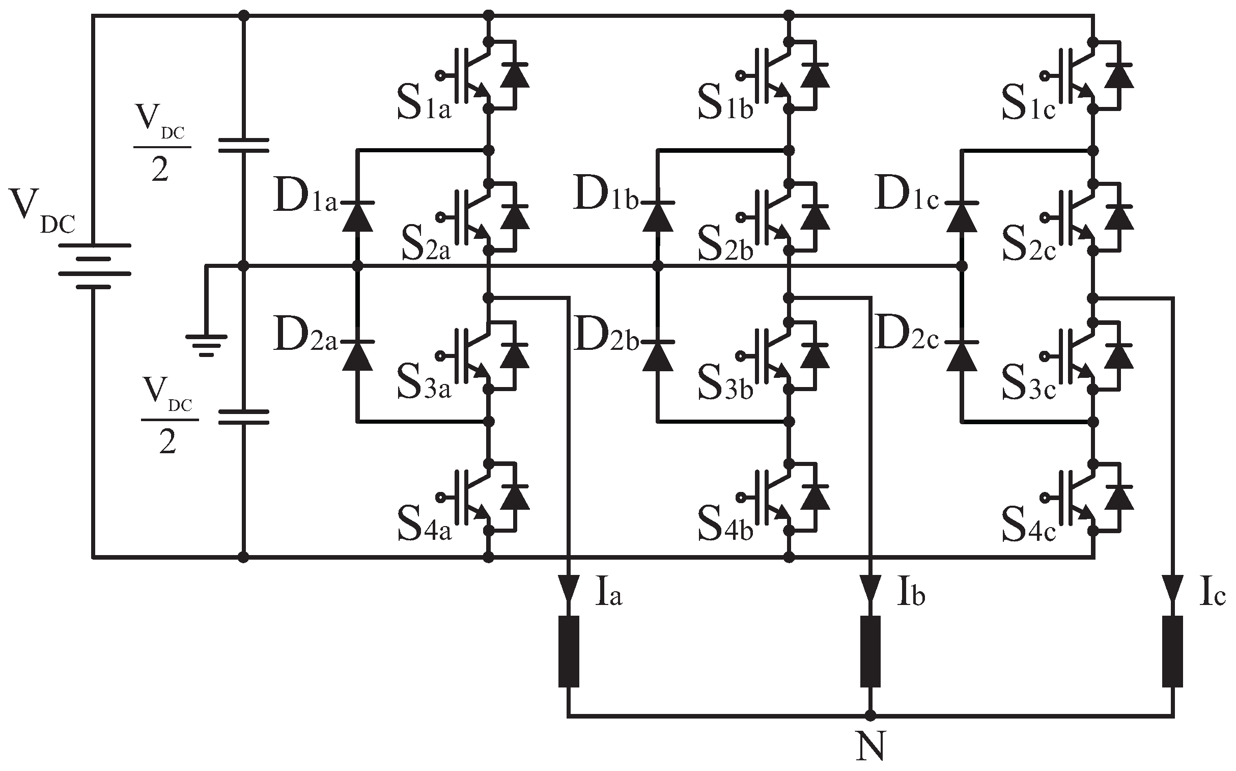 application of a three level npc inverter 3-level inverters 34 renewable energy applications wwwsemikroncom issue 2 2010 power electronics europe the 3-level phase in npc topology (neutral clamping point) comprises four series connected igbts with corresponding freewheeling.