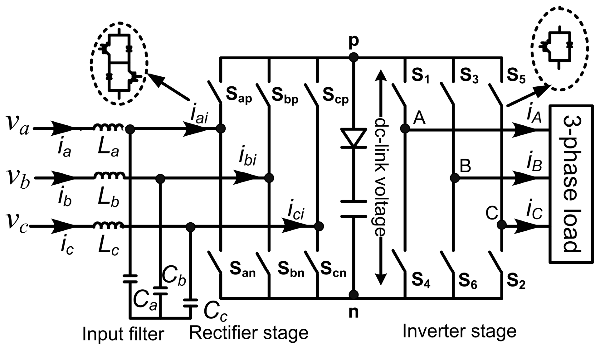 Energies | Free Full-Text | Space Vector Modulation for an Indirect ...