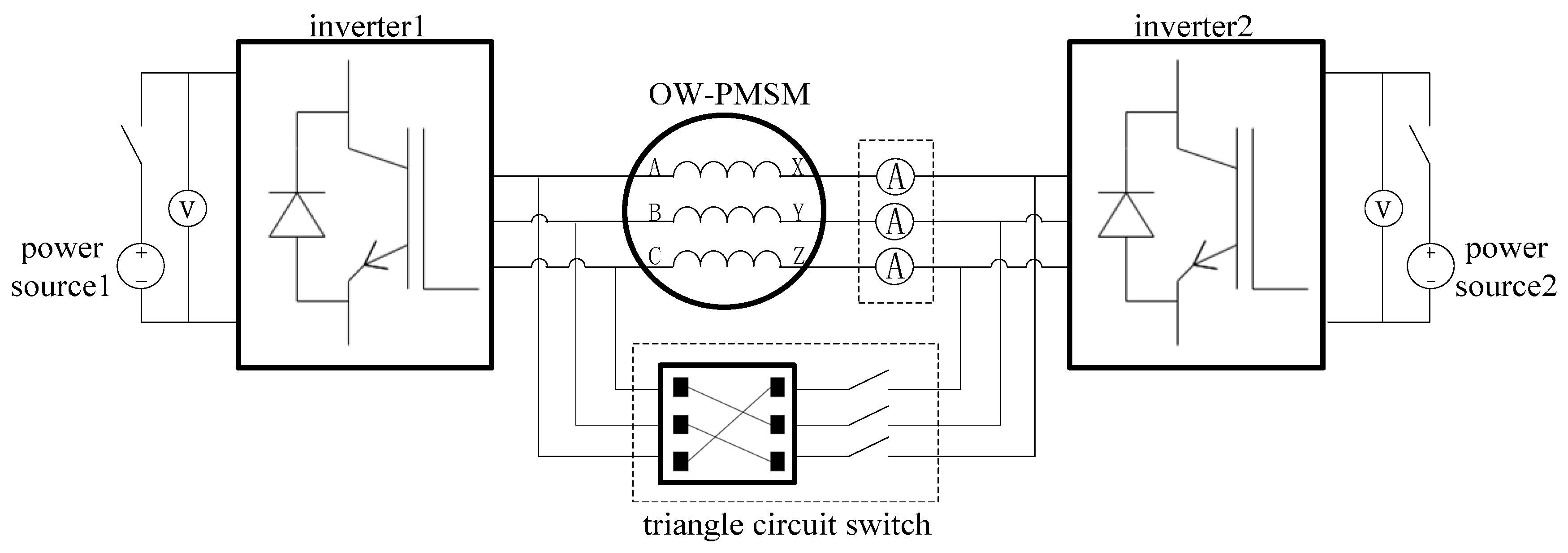 permanent magnet motor schematic free wiring diagram images