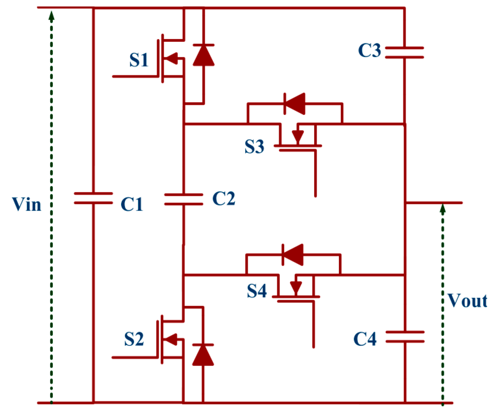 Energies Free Full Text A Multistage Dc Step Up Self Balanced Buildaisolateddcdcconvertercircuitdiagrampng 10 00719 G011 Figure 11 Switched Capacitor Converter