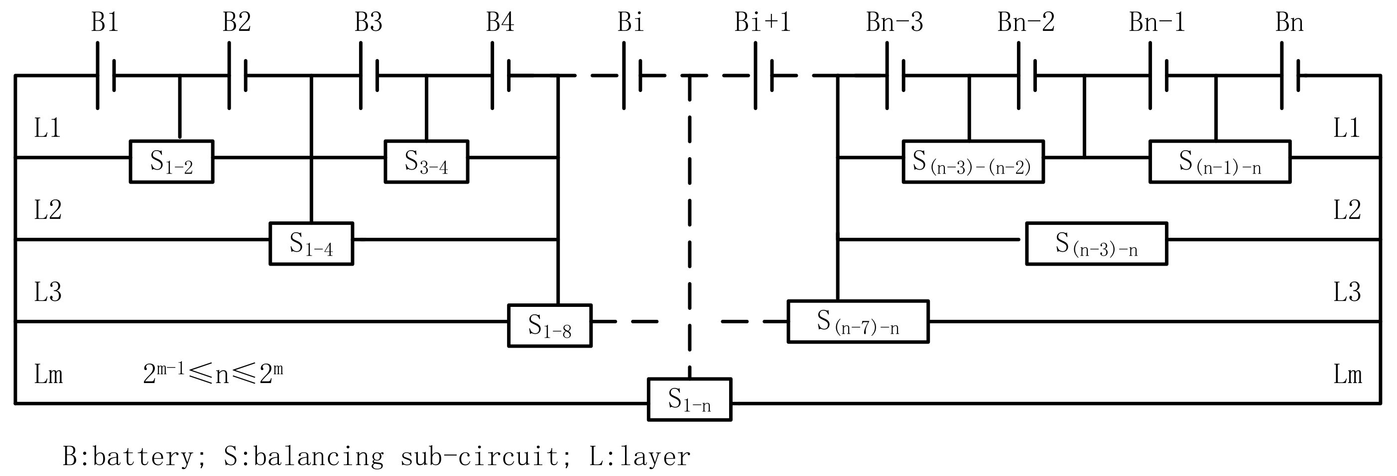 Energies Free Full Text A Novel Layered Bidirectional Equalizer Series Parallel Batteries Tutorial Circuits No