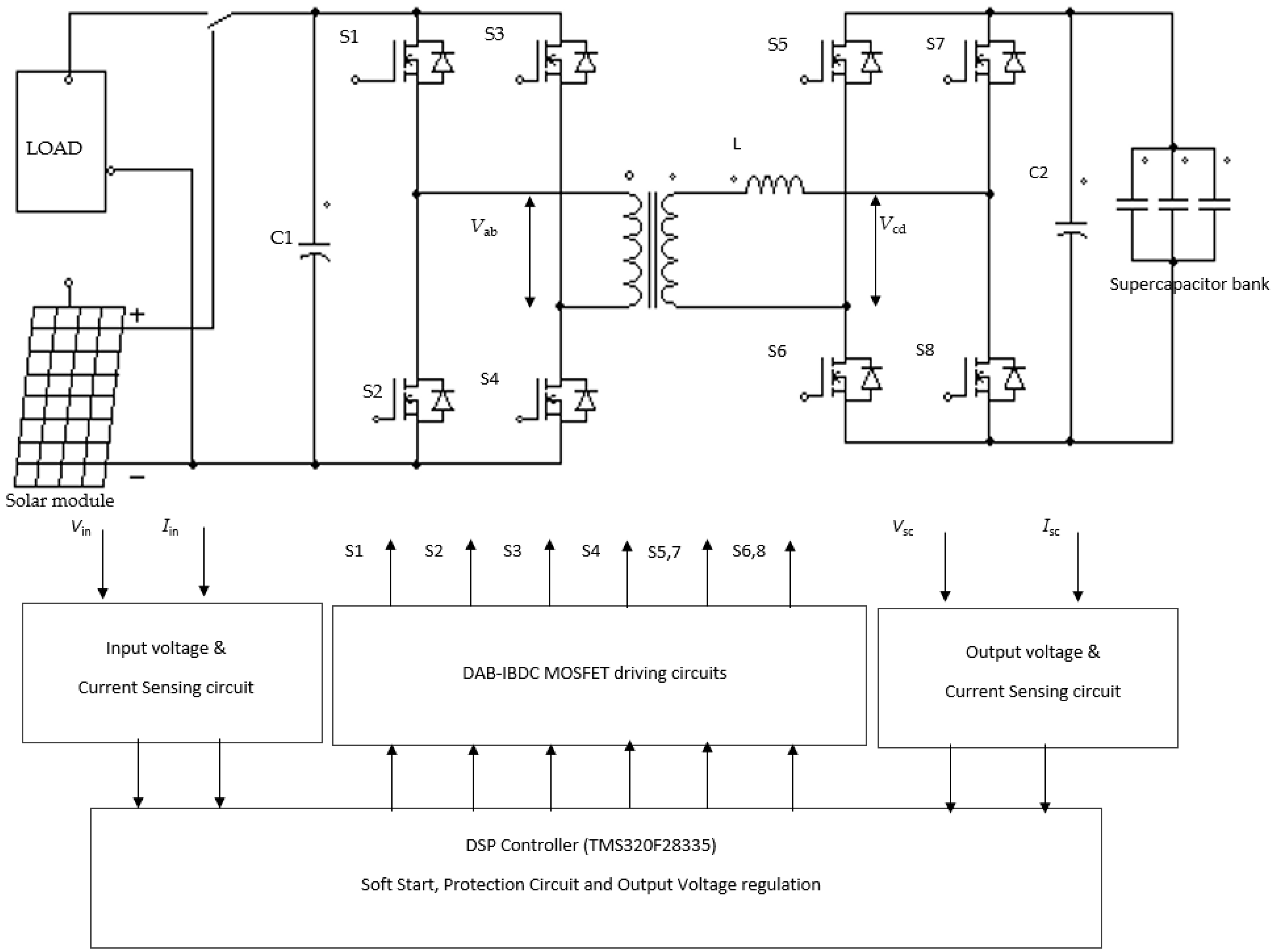 Energies Free Full Text A Blended Sps Esps Control Dab Ibdc Voltage Converter Wiring Diagram 10 01431 G002