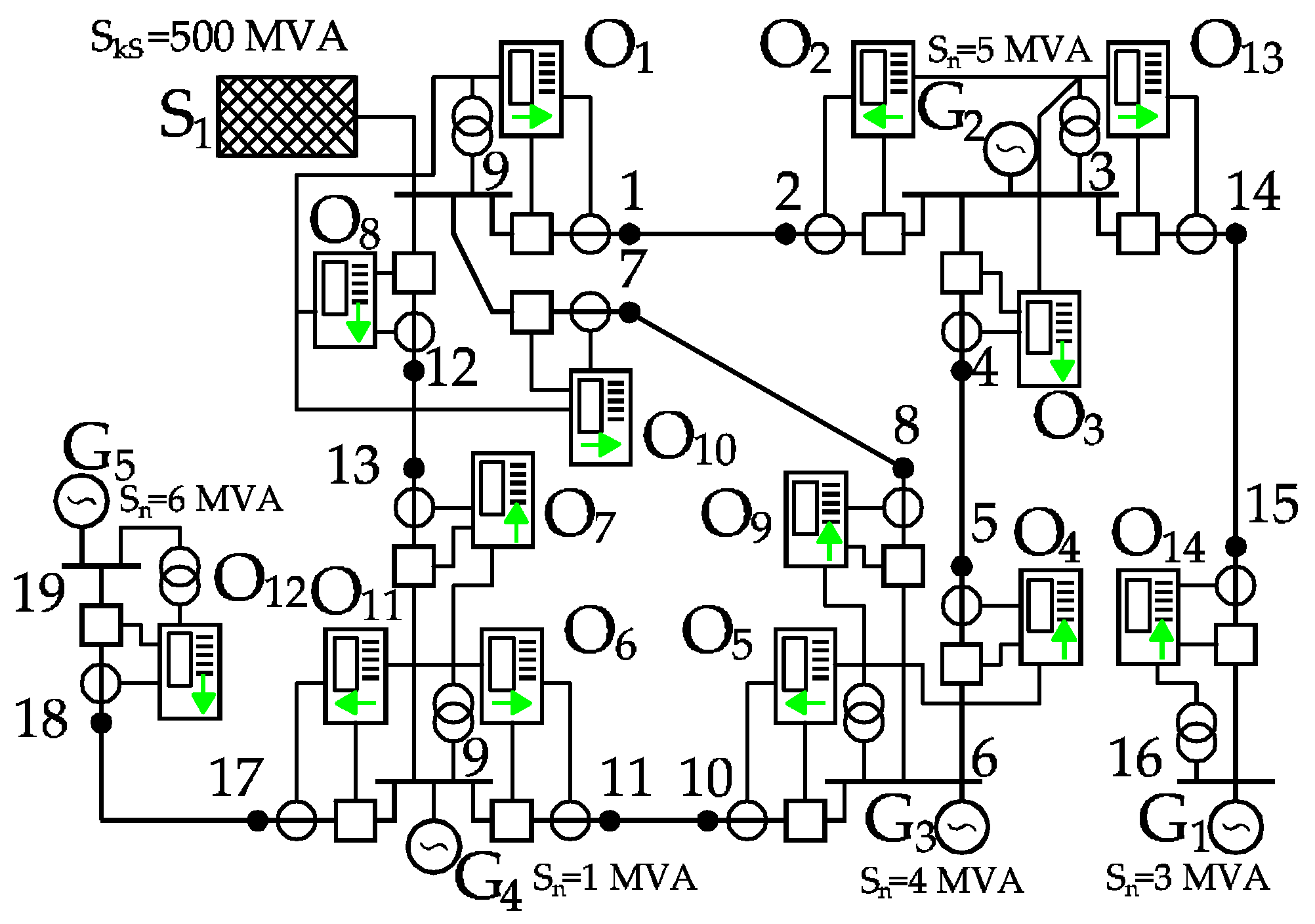 ieee electrical relay numbers