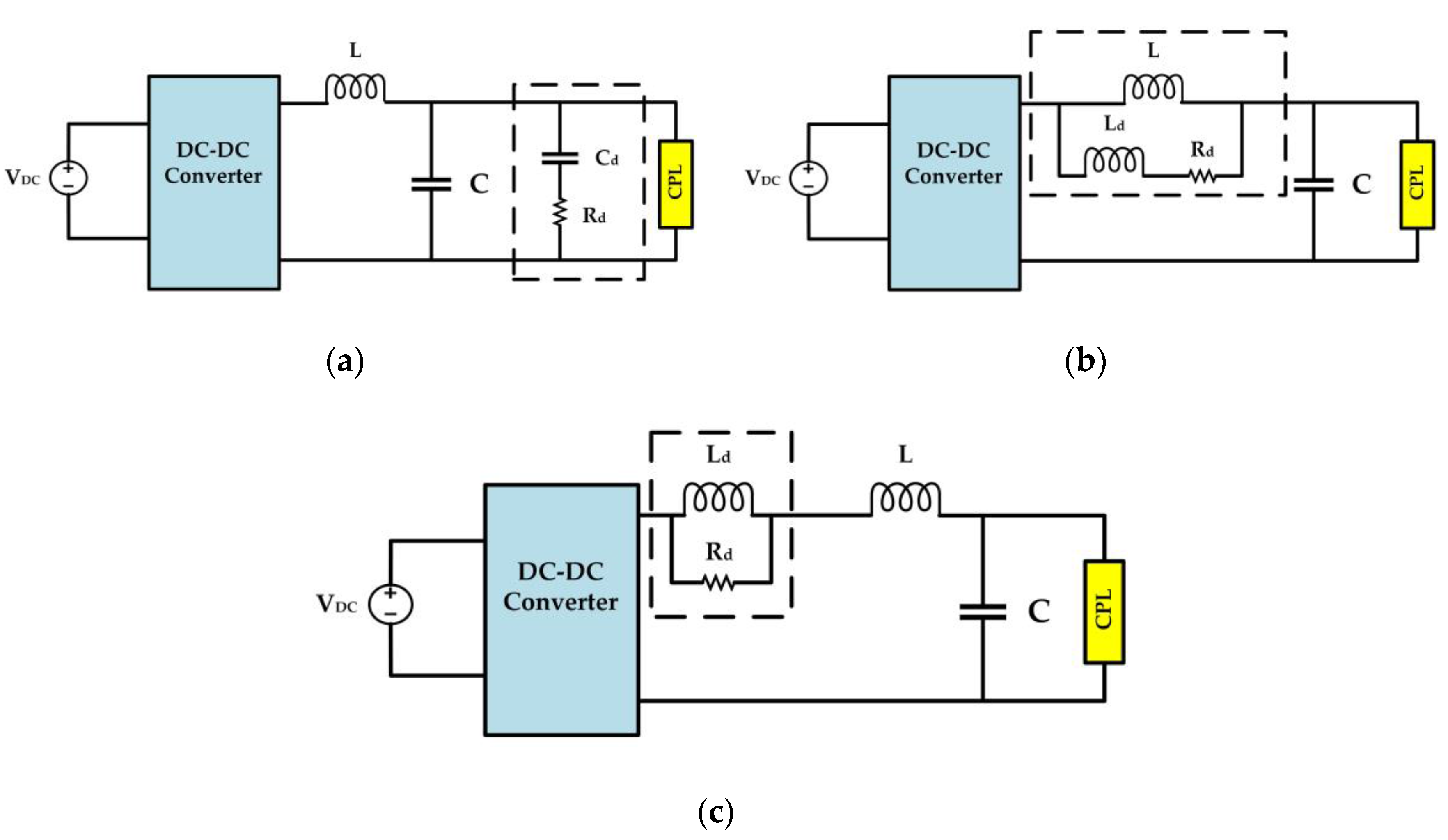 Energies Free Full Text Constant Power Loads Cpl With Parallel Circuit Diagram 4th Grade 10 01656 G007