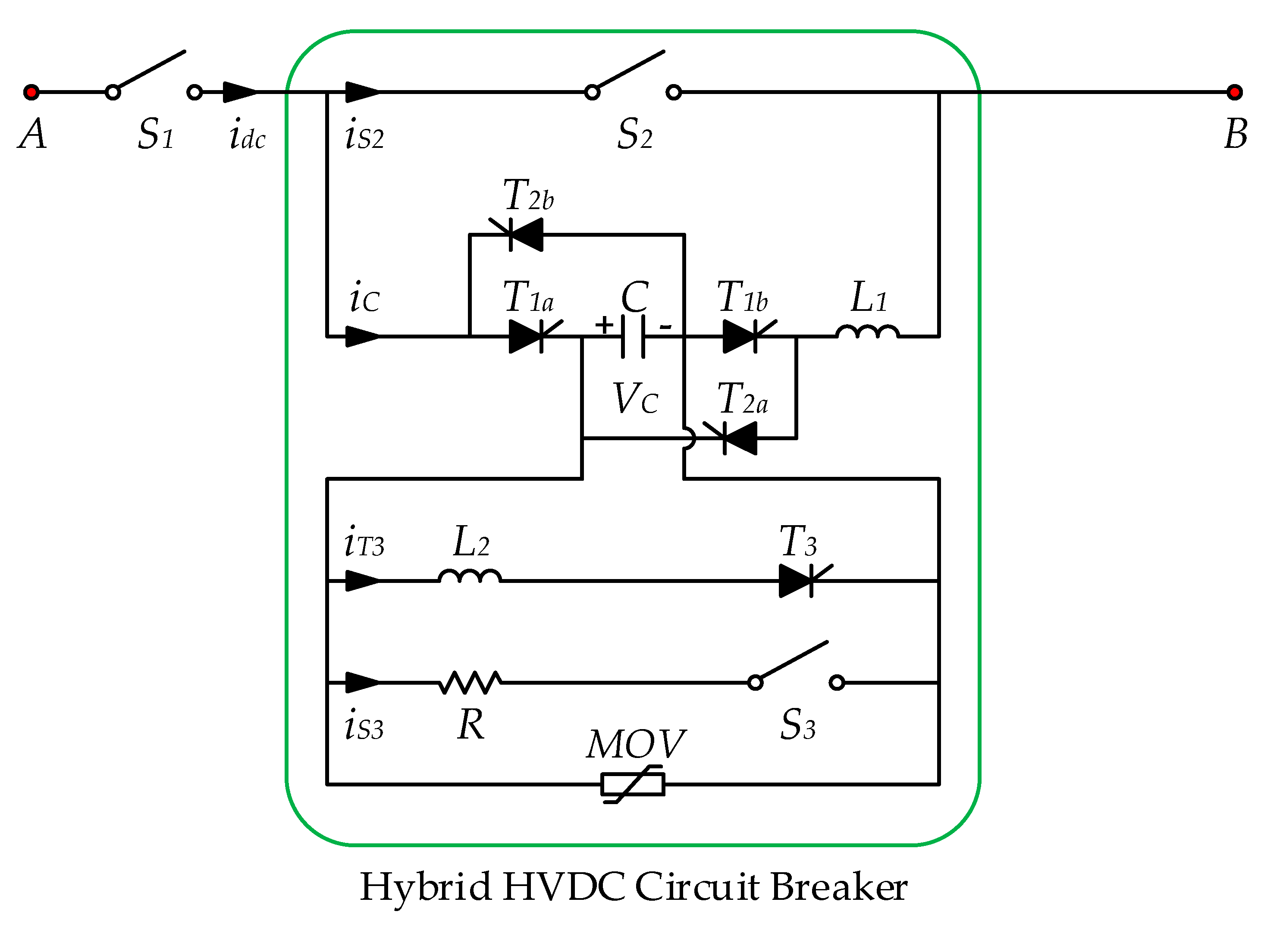 Energies free full text a novel topology of hybrid hvdc no pooptronica