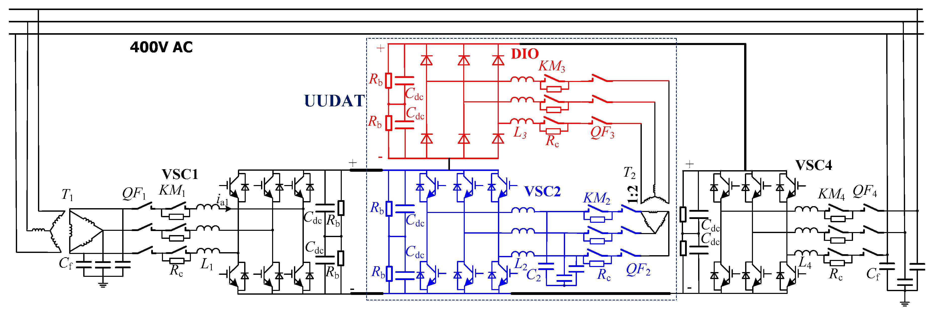 Energies Free Full Text A Unidirectional Dc Autotransformer Wiring Diagram Get Image About No