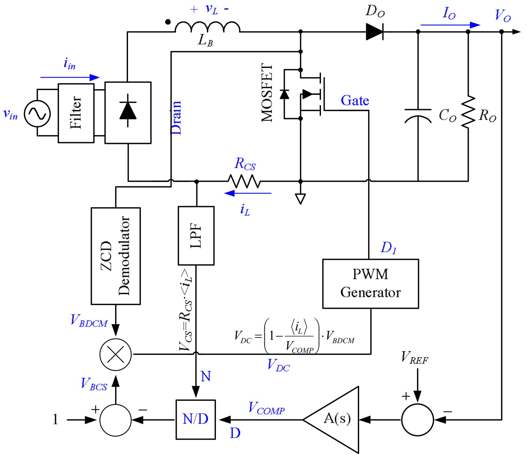 power factor correction using boost converter pdf