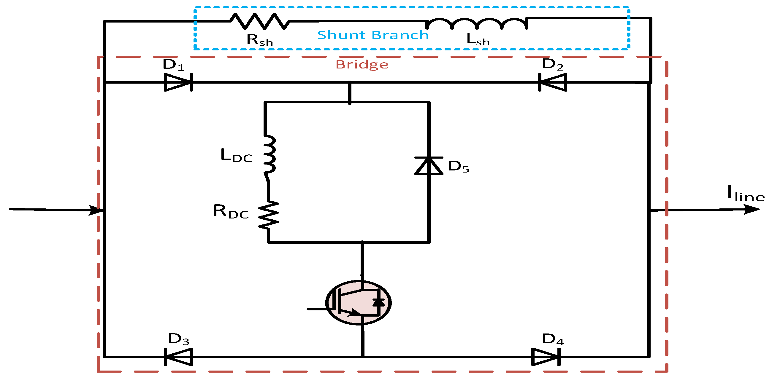 Energies Free Full Text Fault Current Limiters In Power Systems Fig 4 Calculating Transformer Secondary Short Circuit 11 01025 G010 Figure 10 Bridge Type